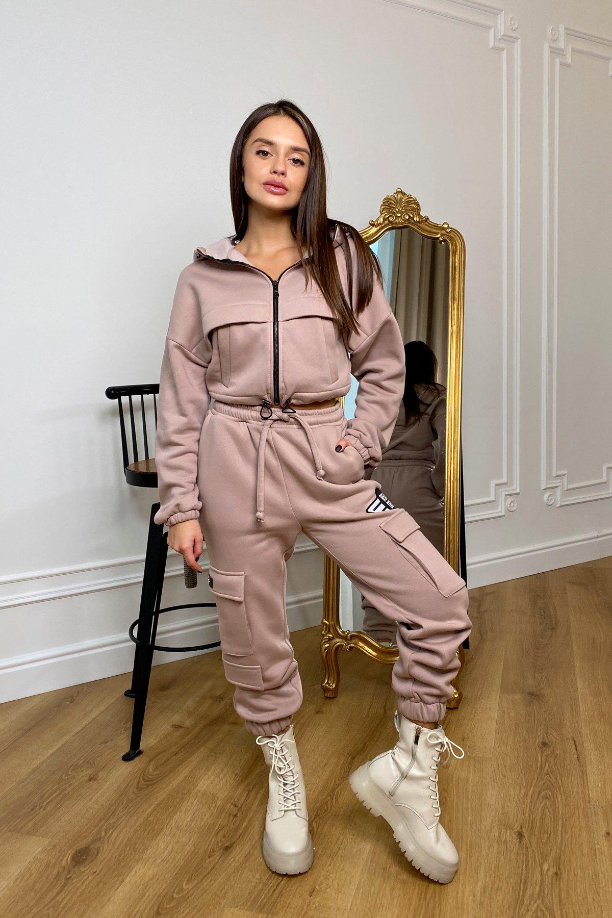 Женская одежда оптом от производителя  Кьюи  прогулочный костю 3х нитка с начесом 9933