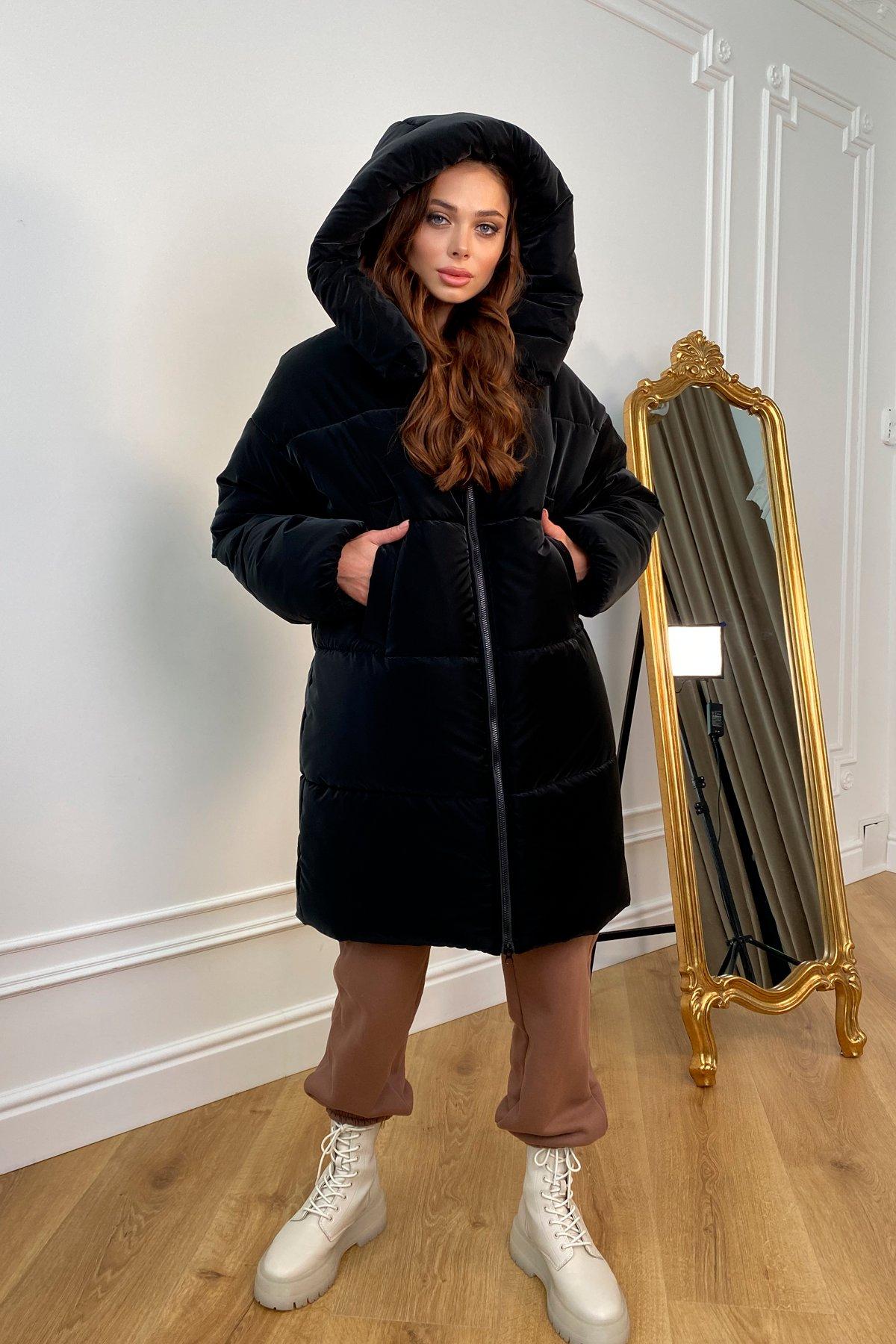 купить женский пуховик в Украине Френд плащевка бархатная пуховик 10103