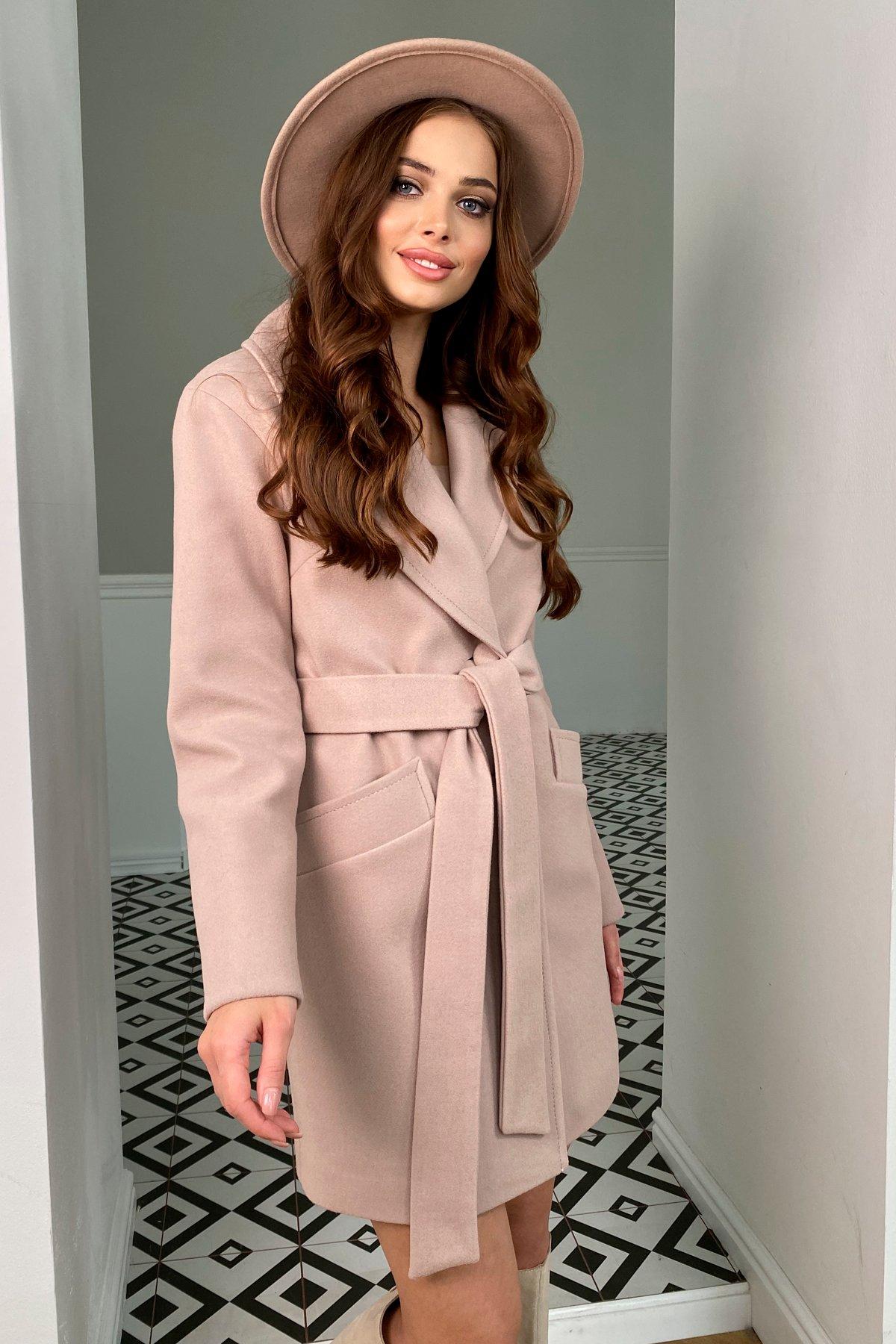 Пальто женское демисезонное интернет магазин TM Modus Вейсона кашемир на трикотаже пальто 9866