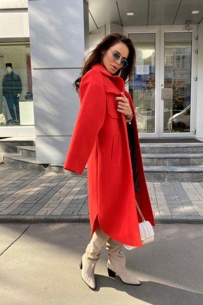 Ола кашемир китай пальтовая ткань зима пальто 9987 Цвет: Красный