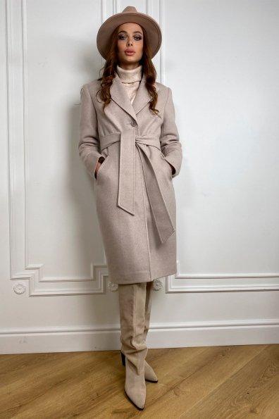 Купить Камила классик Диагональ зима пальто мех ПЕСЕЦ (5*96) 10143 оптом и в розницу