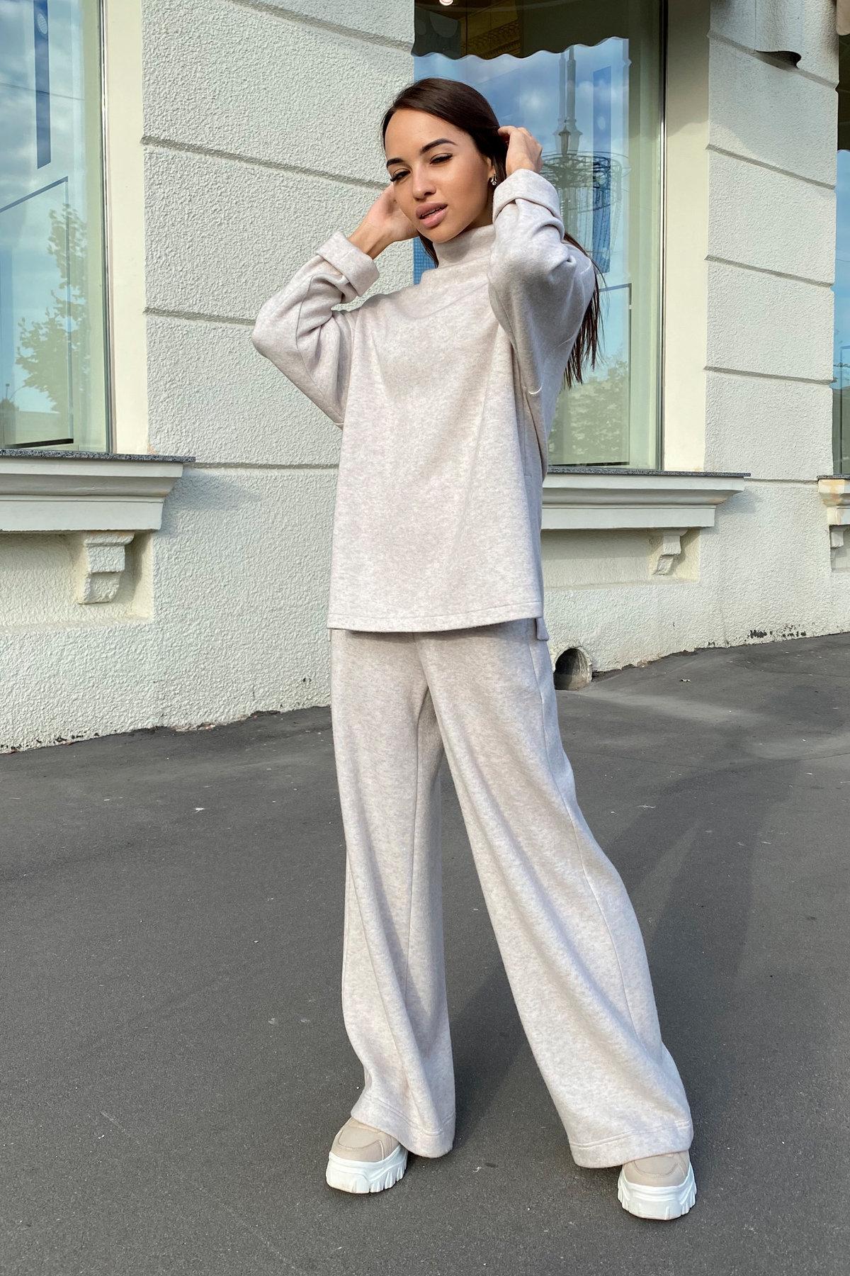 Лав Ю костюм из ангоры 9806 АРТ. 46372 Цвет: Бежевый 23 - фото 2, интернет магазин tm-modus.ru