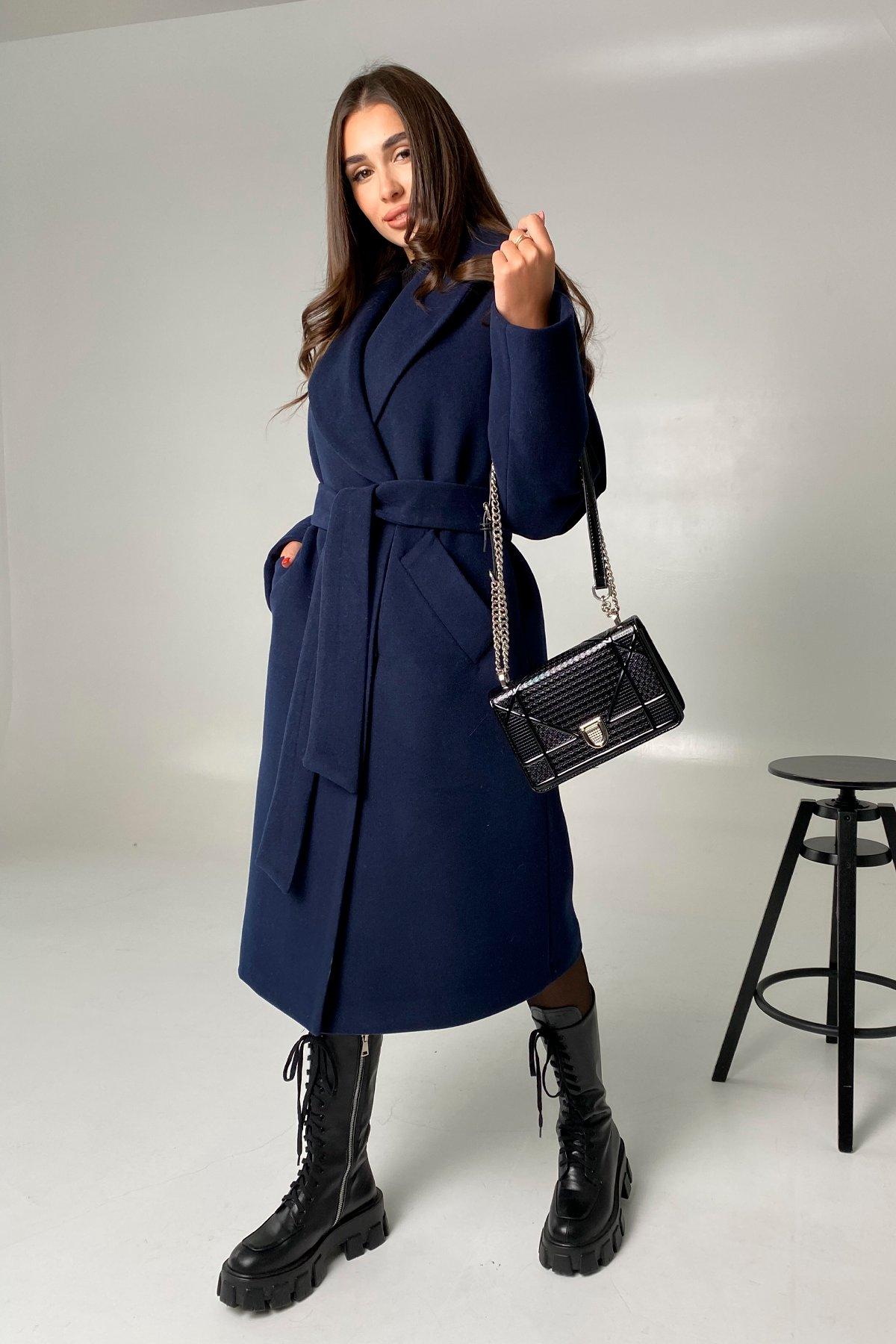 Влада памела пальто из кашемира 9962 АРТ. 46504 Цвет: Т.синий - фото 2, интернет магазин tm-modus.ru