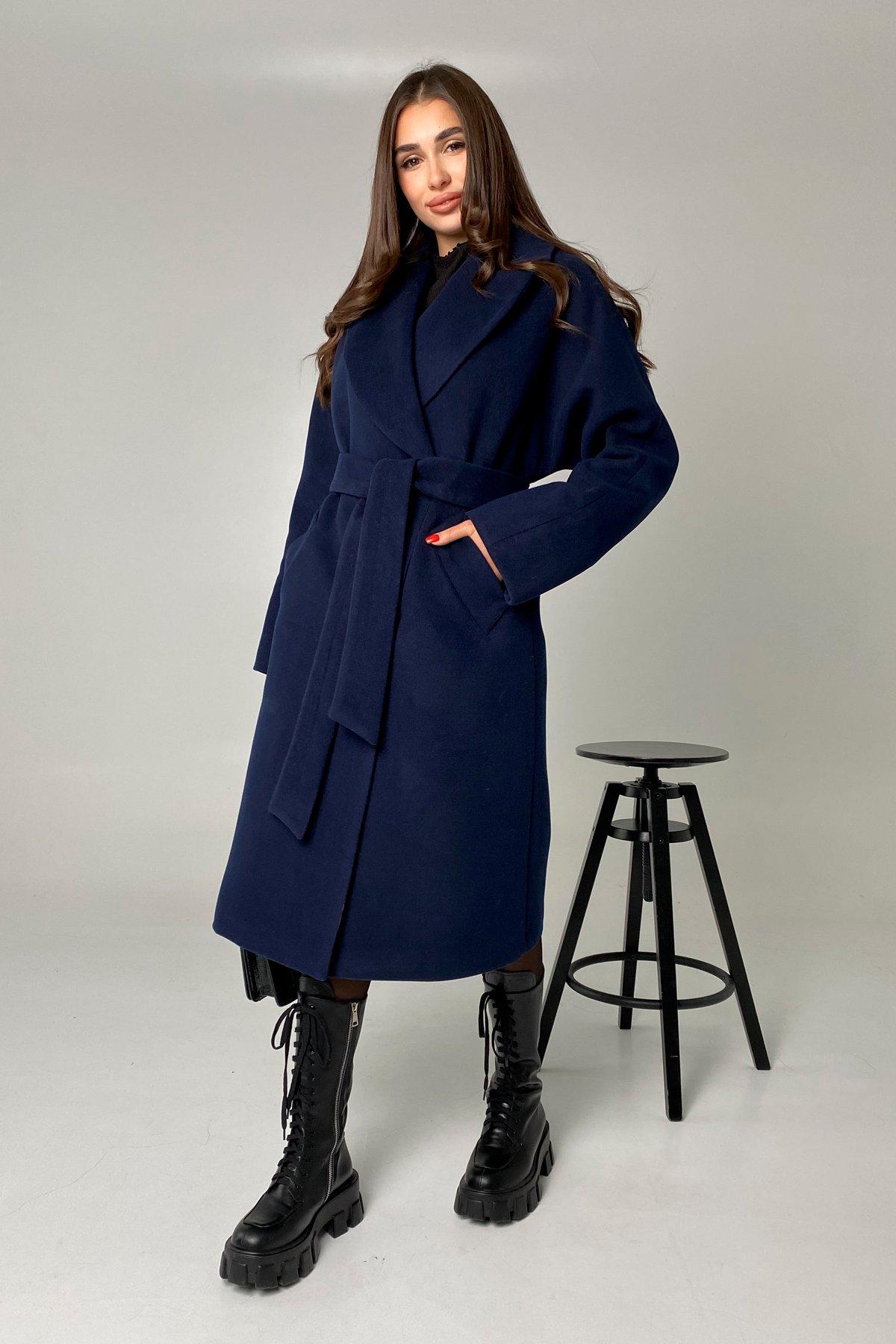 Влада памела пальто из кашемира 9962 АРТ. 46504 Цвет: Т.синий - фото 3, интернет магазин tm-modus.ru