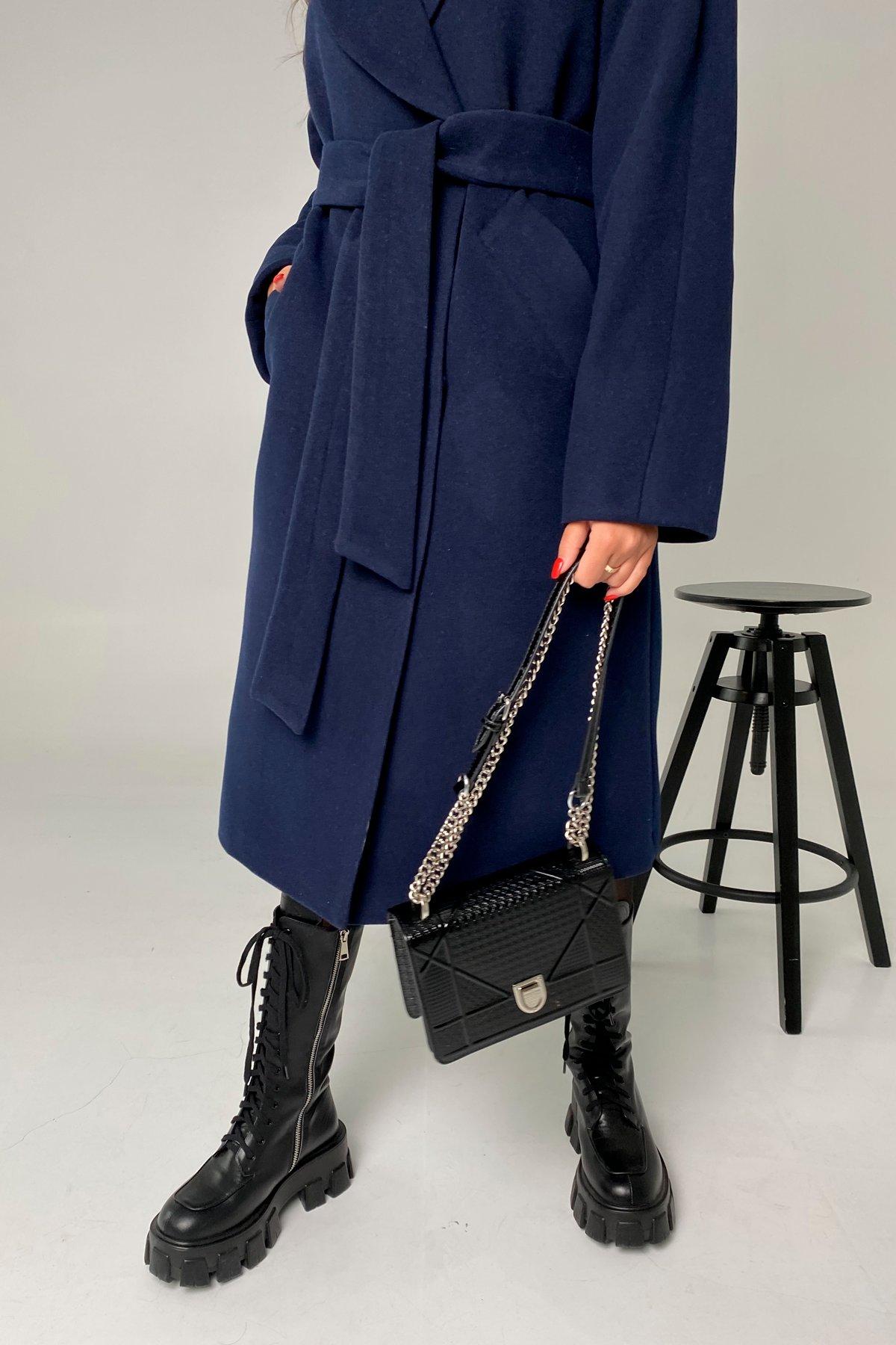 Влада памела пальто из кашемира 9962 АРТ. 46504 Цвет: Т.синий - фото 4, интернет магазин tm-modus.ru