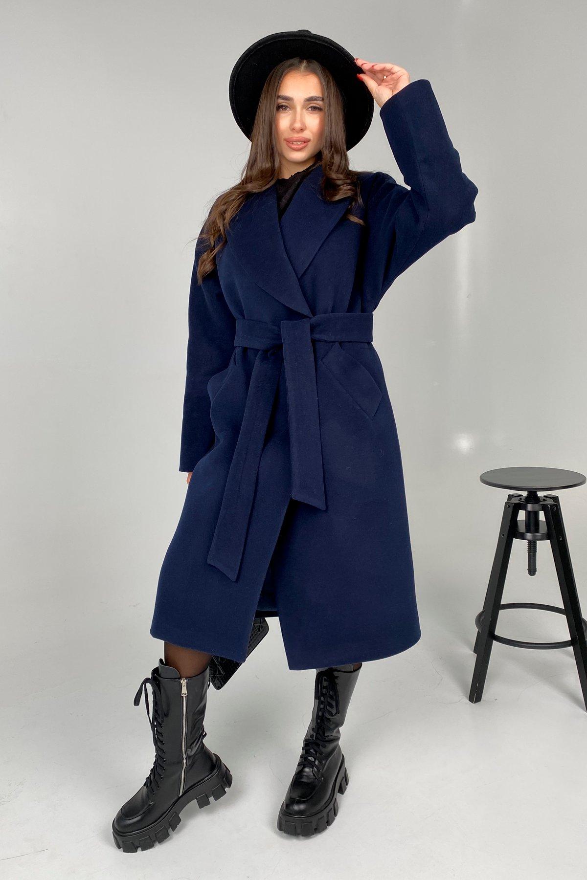 Влада памела пальто из кашемира 9962 АРТ. 46504 Цвет: Т.синий - фото 5, интернет магазин tm-modus.ru