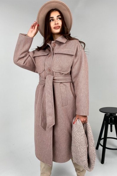 Купить Ола модена пальтовая ткань зима Шарф пальто 10217 оптом и в розницу