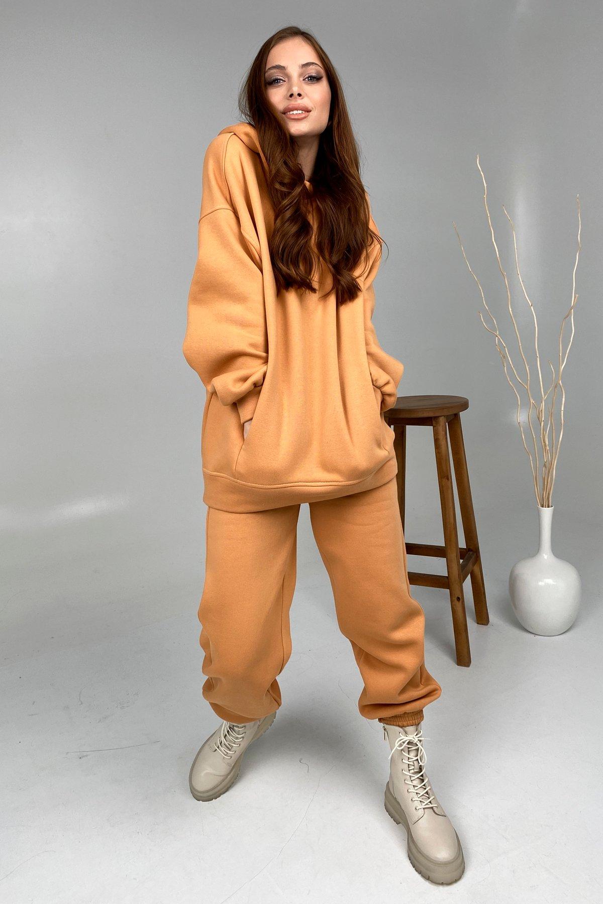 Марион костюм в  стиле Oversize  3х нитка 9651 АРТ. 46371 Цвет: Св.Кемел - фото 3, интернет магазин tm-modus.ru