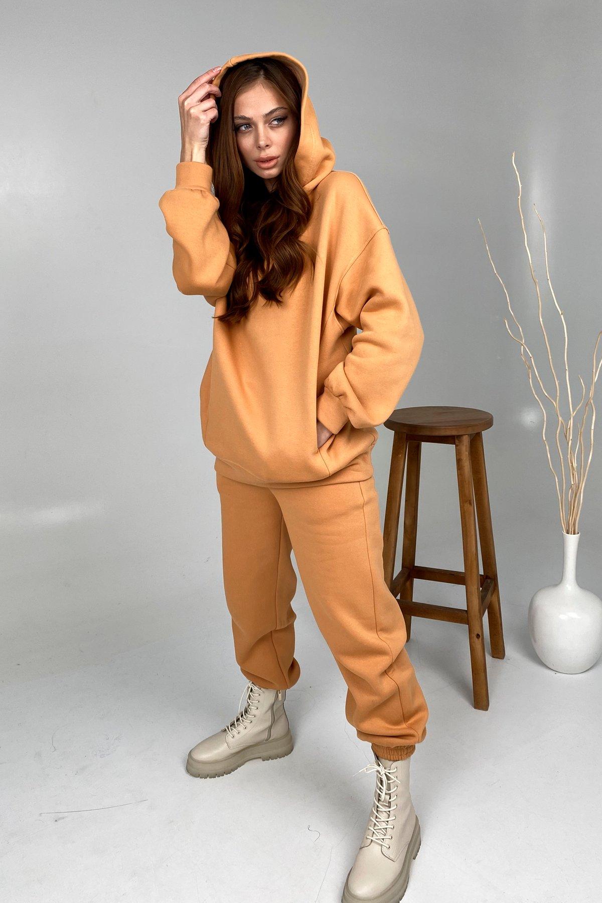 Марион костюм в  стиле Oversize  3х нитка 9651 АРТ. 46371 Цвет: Св.Кемел - фото 5, интернет магазин tm-modus.ru