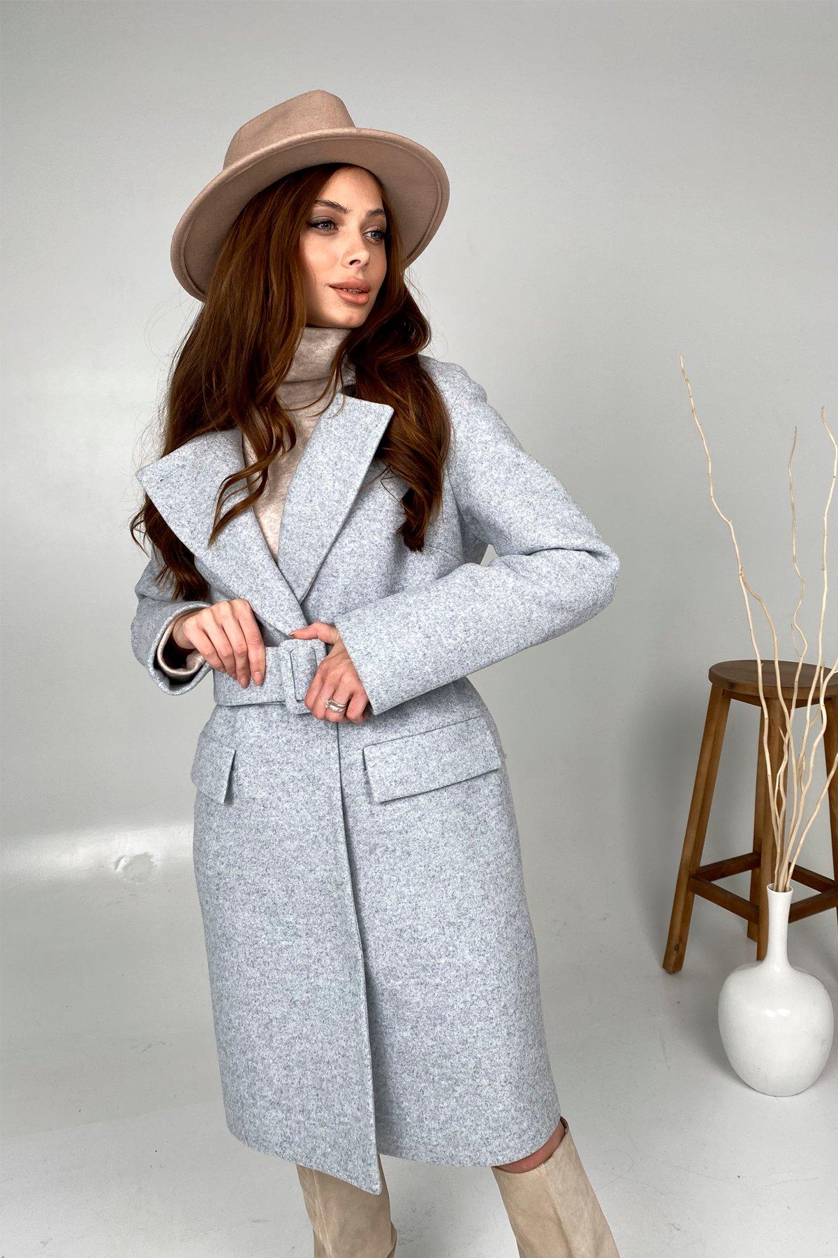 Женские зимние пальто оптом TM Modus Зимнее пальто с отложным воротником Моле 8085