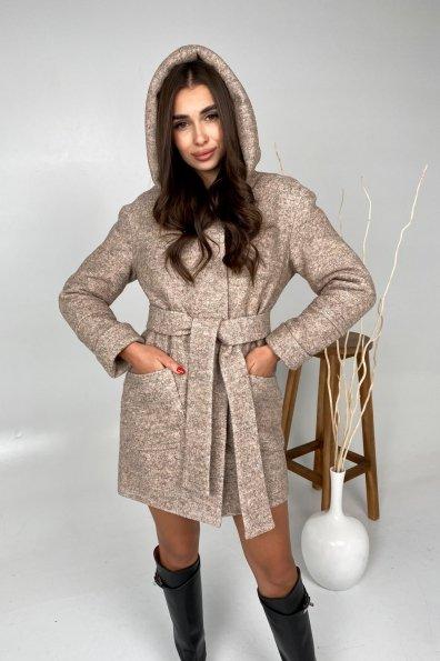 Купити Анита шерсть варенка зима без меха пальто 9936 оптом і в роздріб