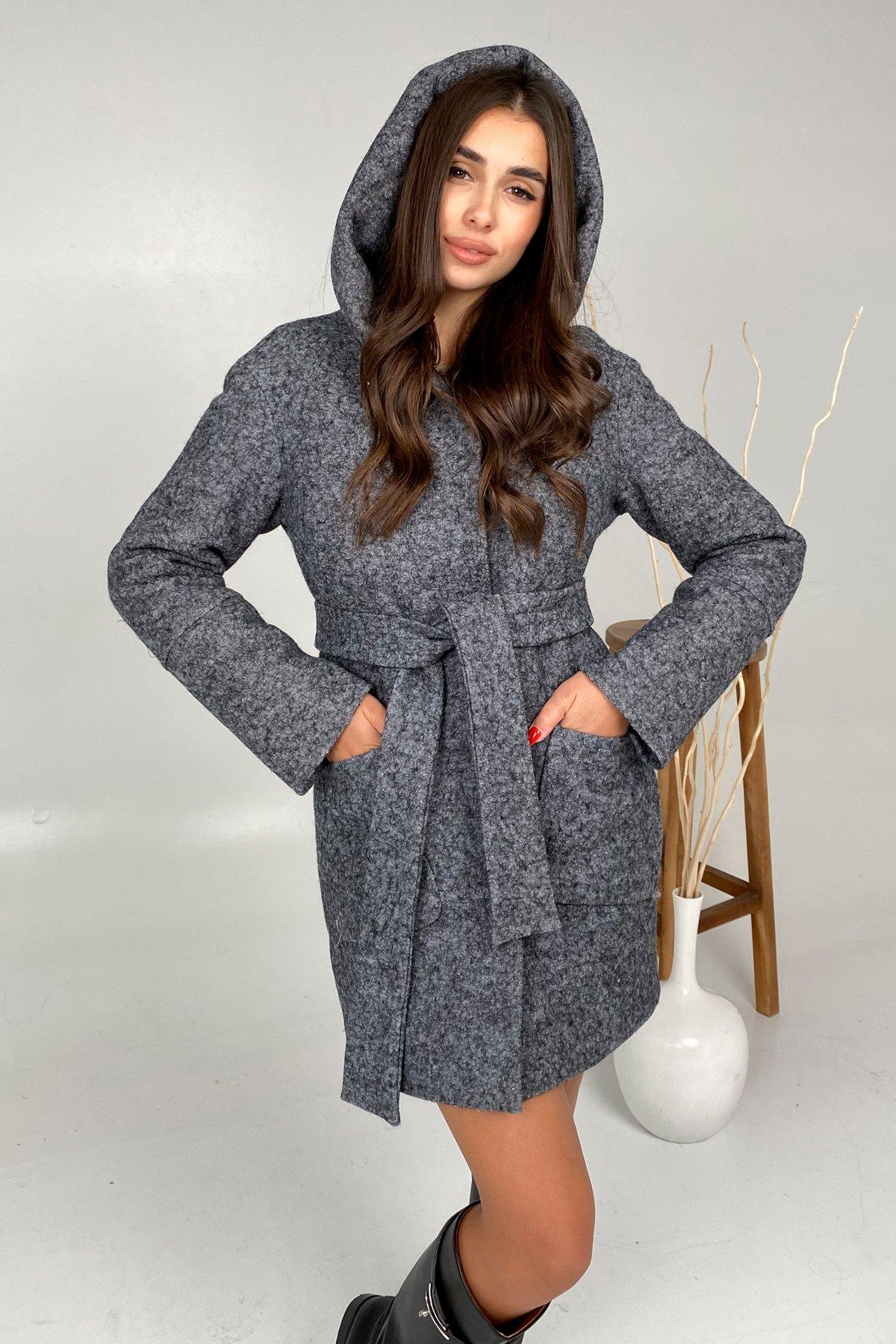 Анита шерсть варенка зима без меха пальто 9936