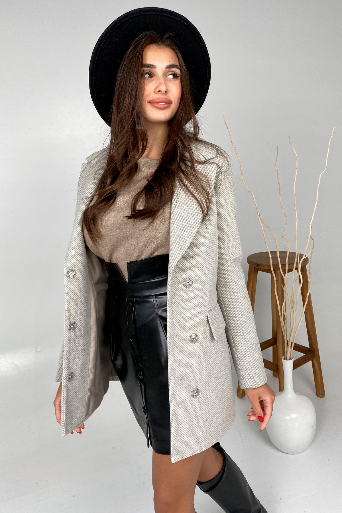 Демисезонное пальто Каир Флеш 8849 Цвет: Оливковый