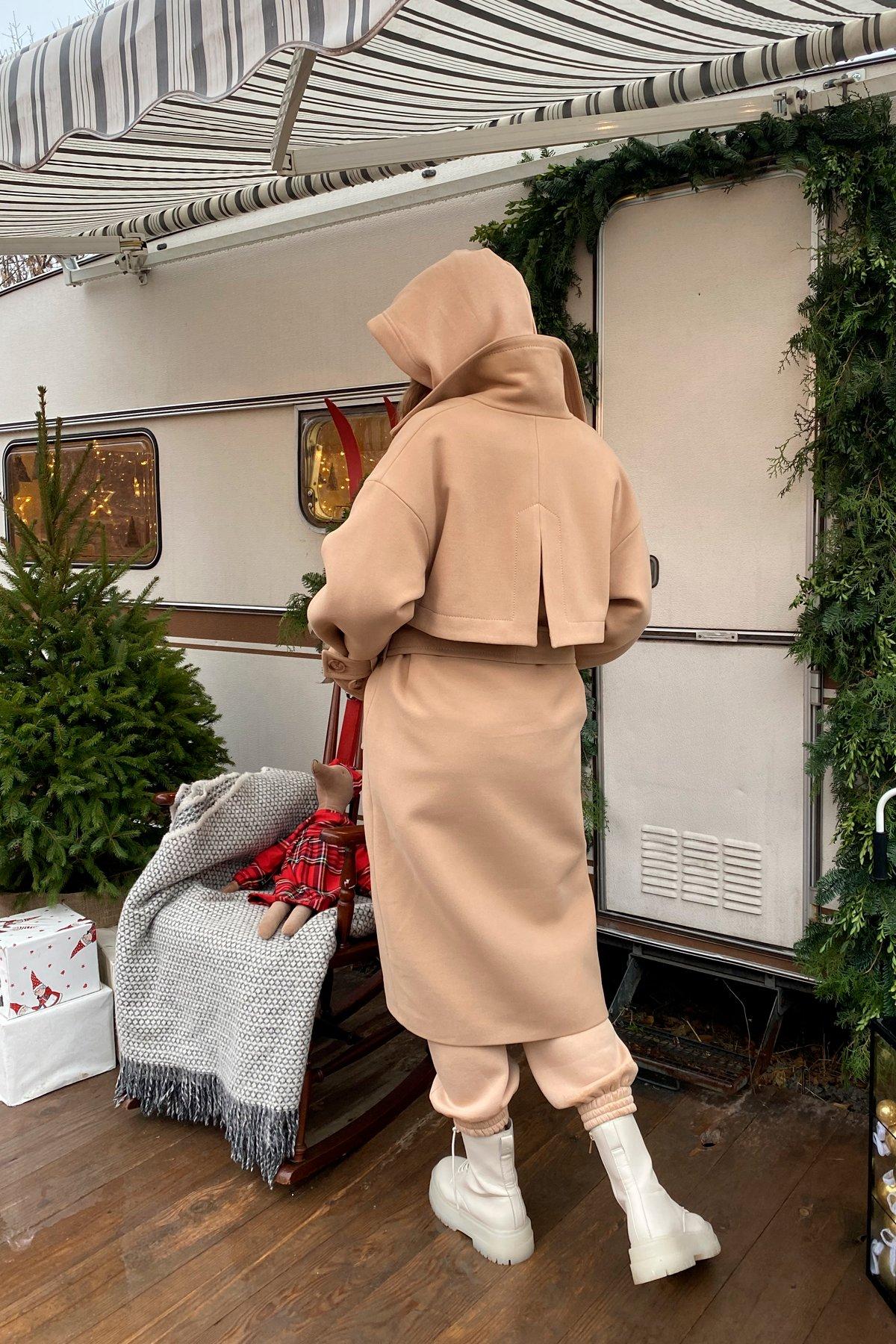 Твин макси кашемир турецкий пальто 10169 АРТ. 46459 Цвет: Кемел - фото 9, интернет магазин tm-modus.ru