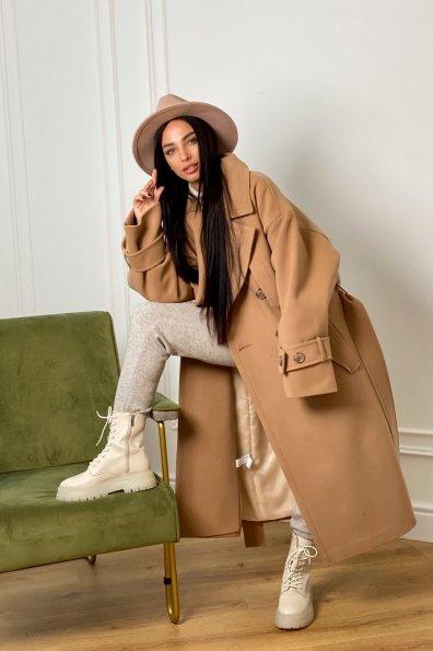 Купить Твин макси кашемир турецкий пальто 10169 оптом и в розницу