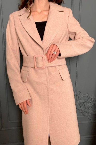 Купить Лабио Елочка мелкая кашемир пальто 8825 оптом и в розницу