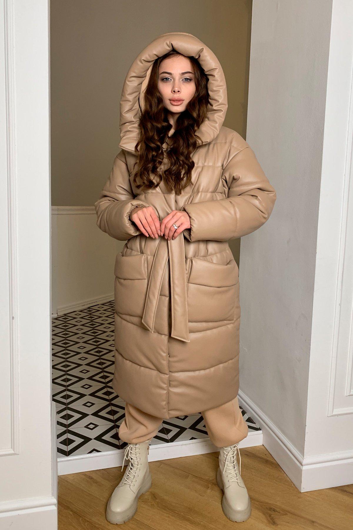 куртки оптом от производителя  Вог эко кожа пуховик 10221