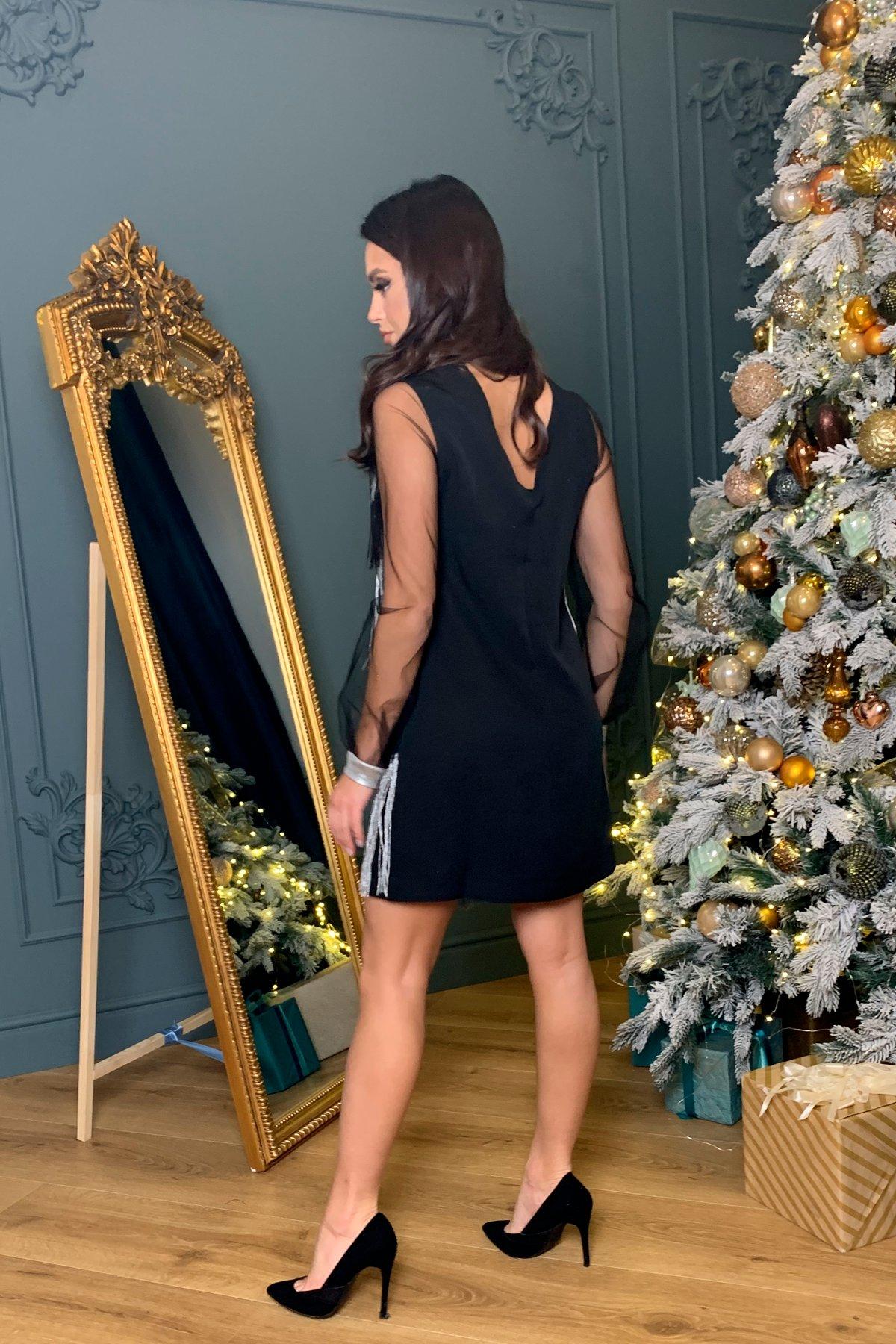 Вечернее платье Софит 8629 АРТ. 44943 Цвет: Черный - фото 2, интернет магазин tm-modus.ru