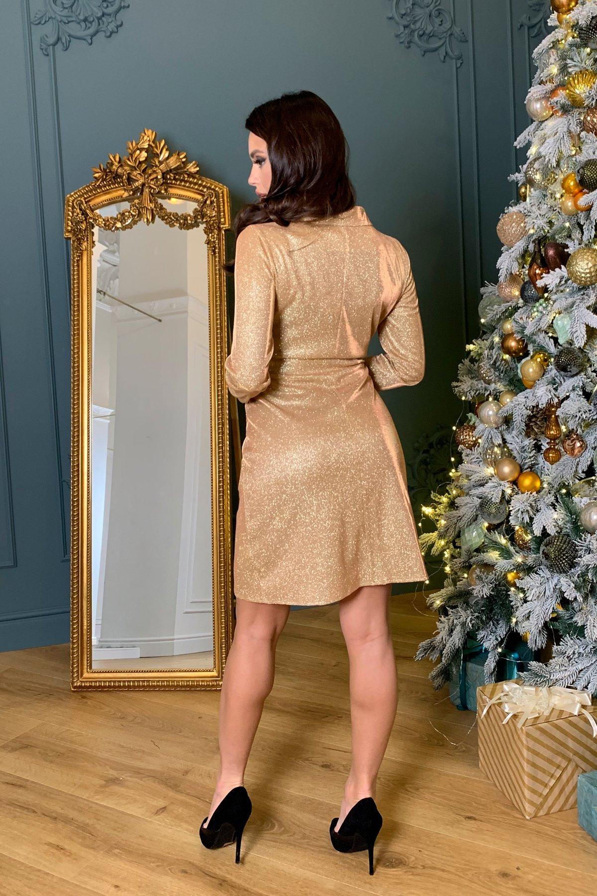 Платье Шати 8686 АРТ. 45014 Цвет: Золото/розовый - фото 2, интернет магазин tm-modus.ru