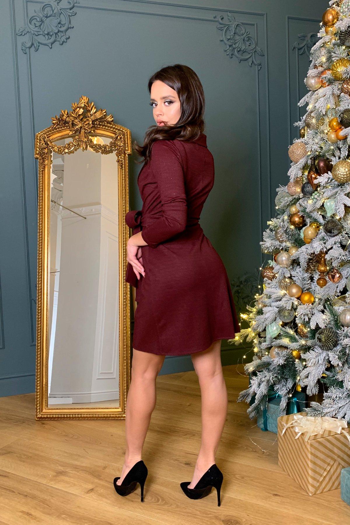 Платье Шати 8368 АРТ. 44859 Цвет: Винный - фото 1, интернет магазин tm-modus.ru