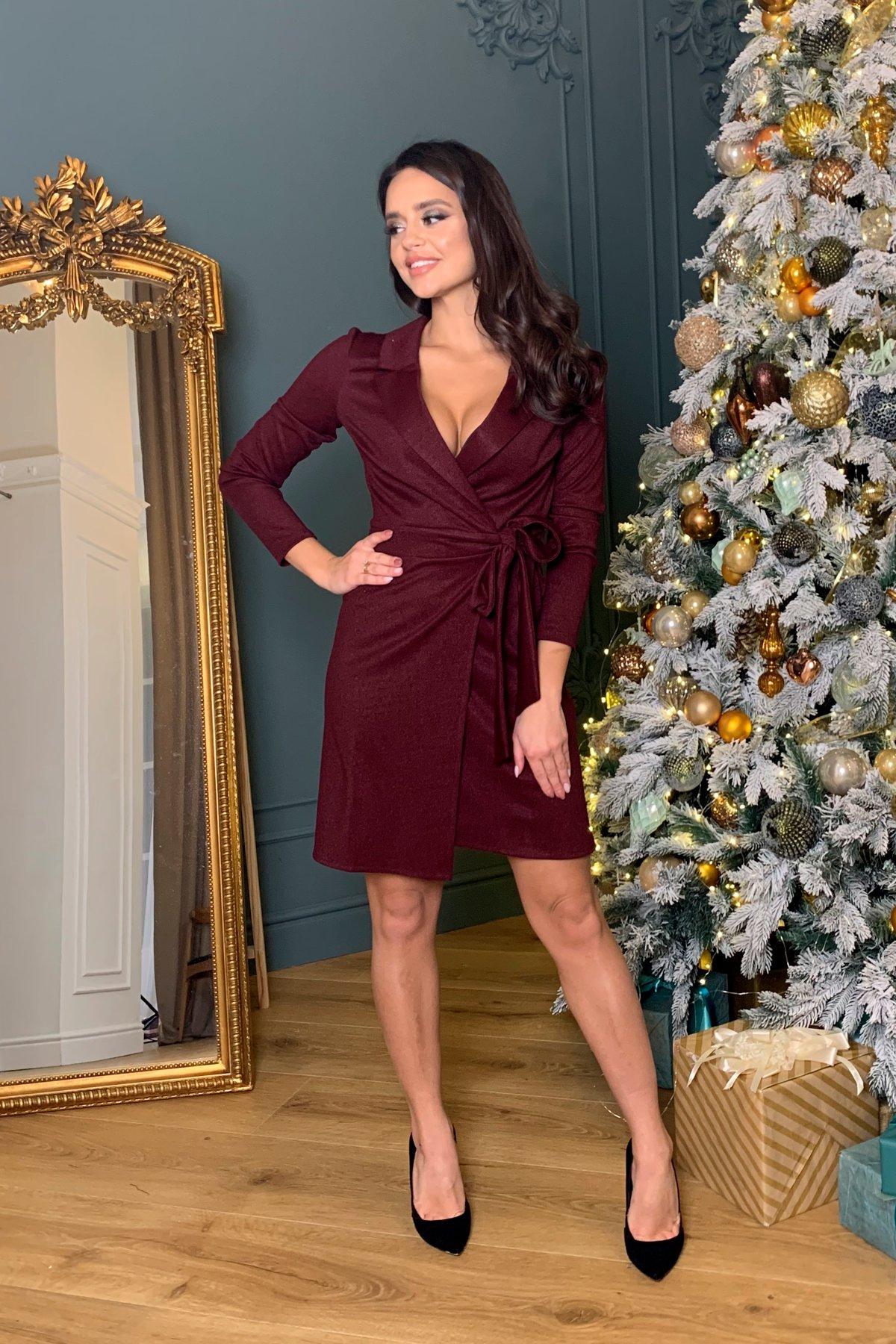Платье Шати 8368 АРТ. 44859 Цвет: Винный - фото 2, интернет магазин tm-modus.ru