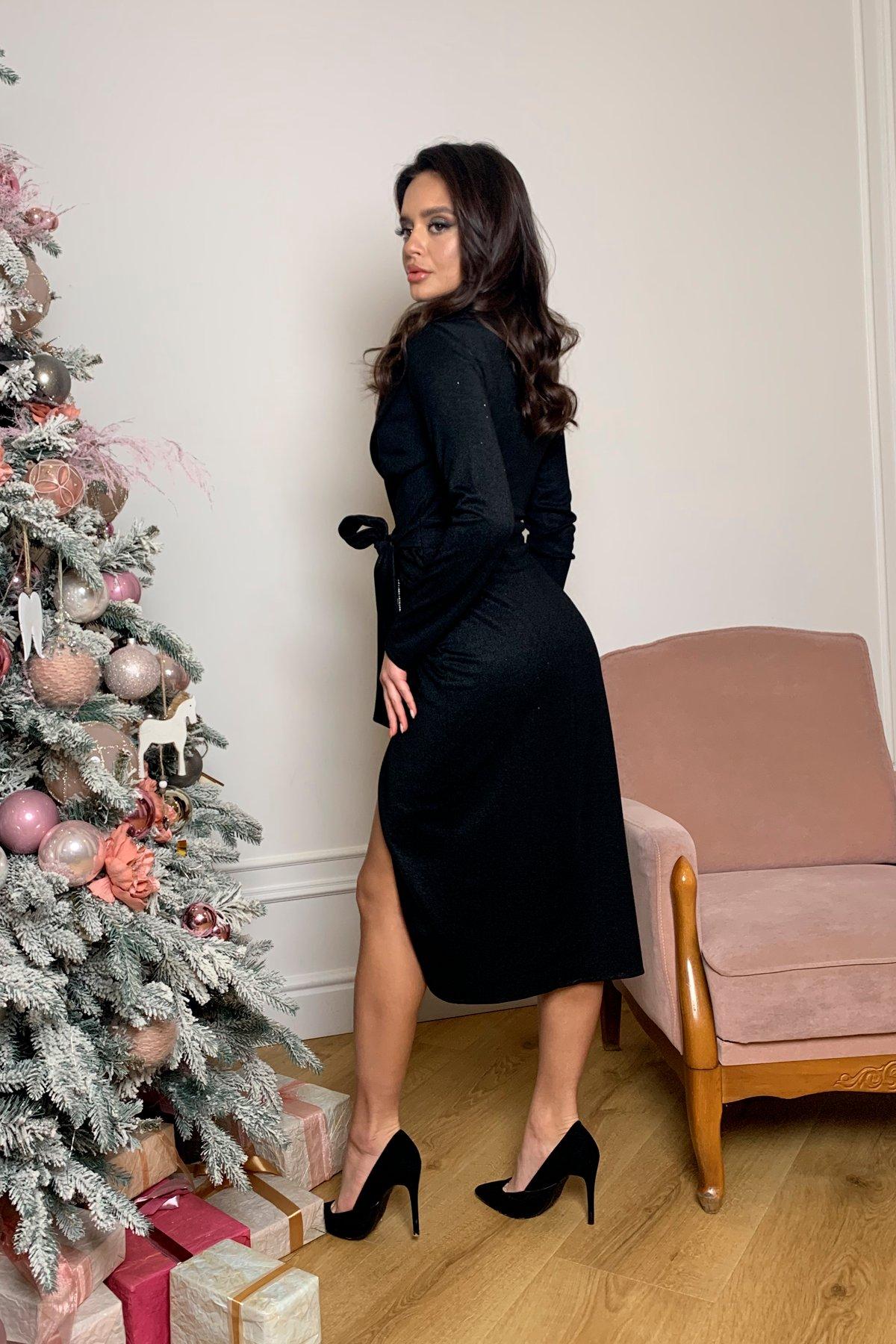 Платье Питта 8507 АРТ. 44799 Цвет: Черный - фото 1, интернет магазин tm-modus.ru