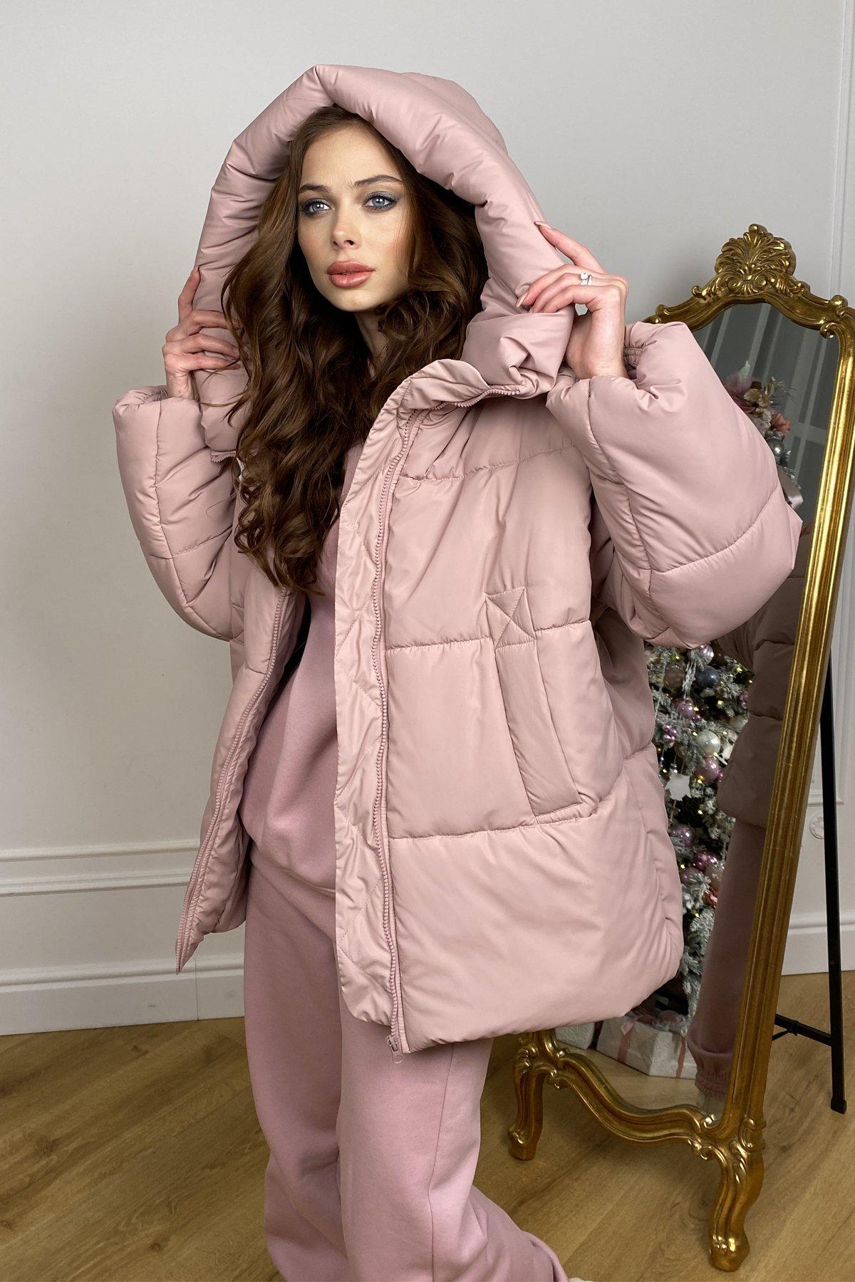 куртки оптом Харьков  Овертайм  теплый пуховик из плащевой ткани 10243