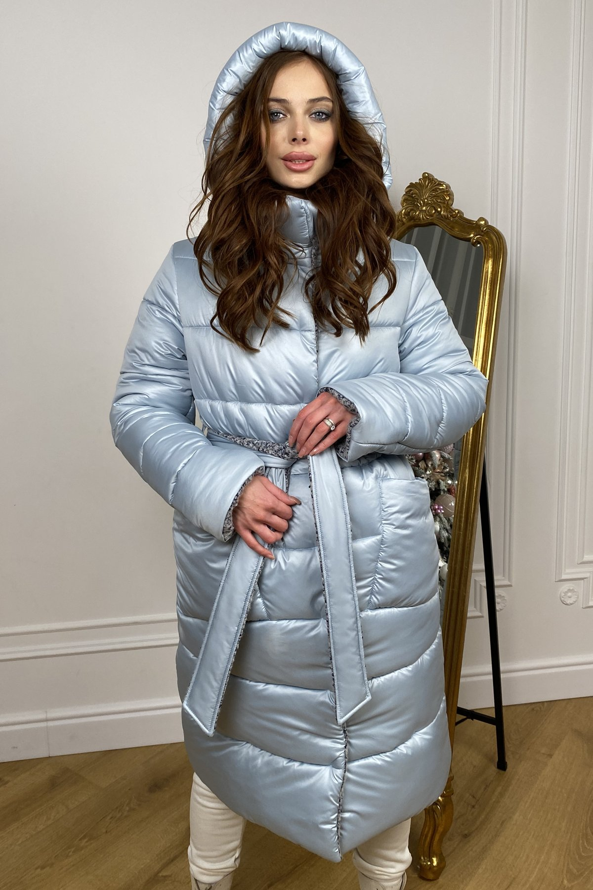 куртки оптом Харьков Бристоль плащевка стеганое пальто зима 10099