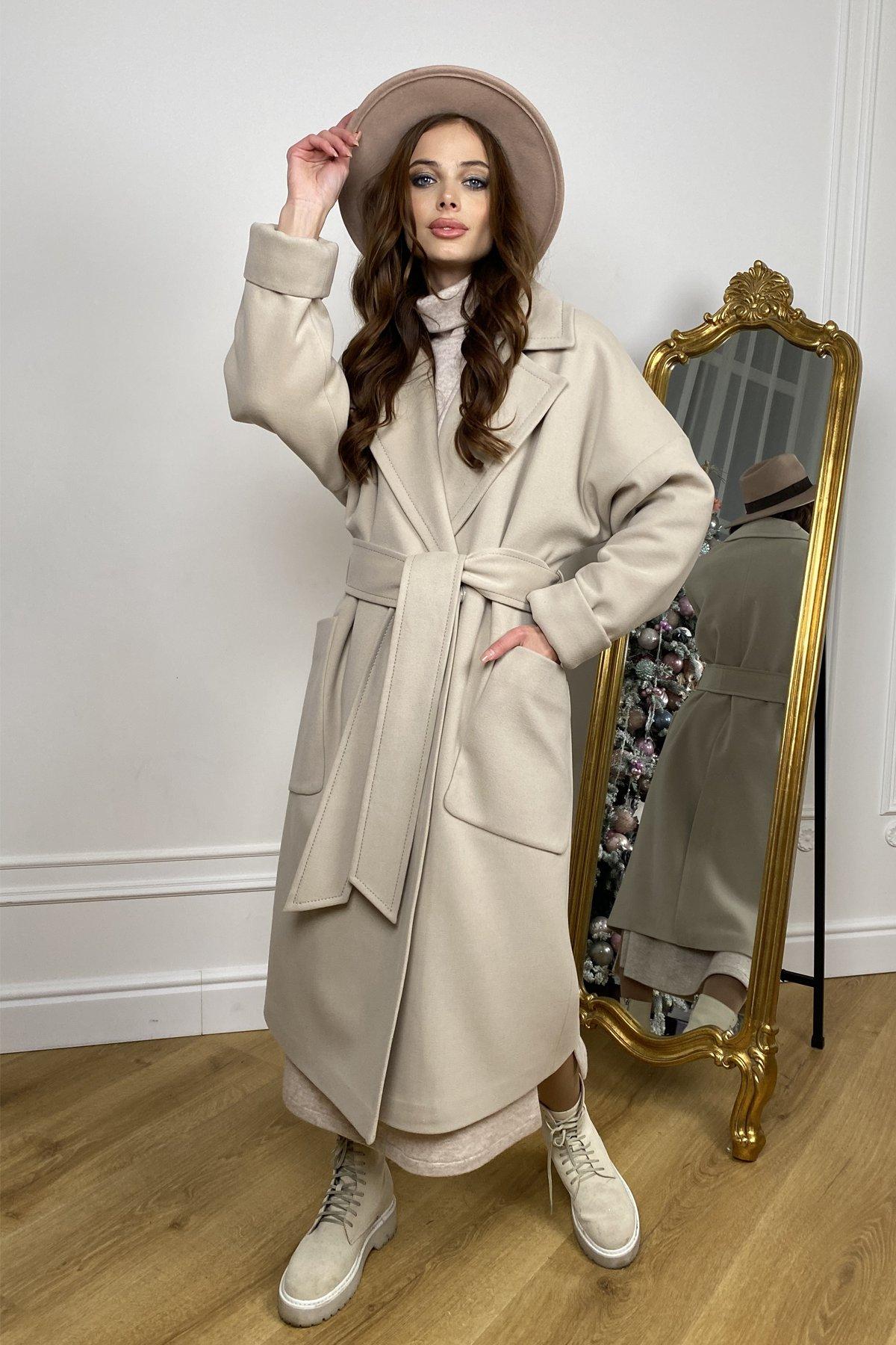 Купить женское зимнее пальто от Modus  Кейт  зимнее пальто  из кашемира с хомутом 10097