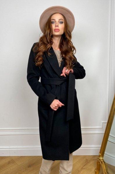 Мехико пальто из кашемира 9026 Цвет: Черный Н-1