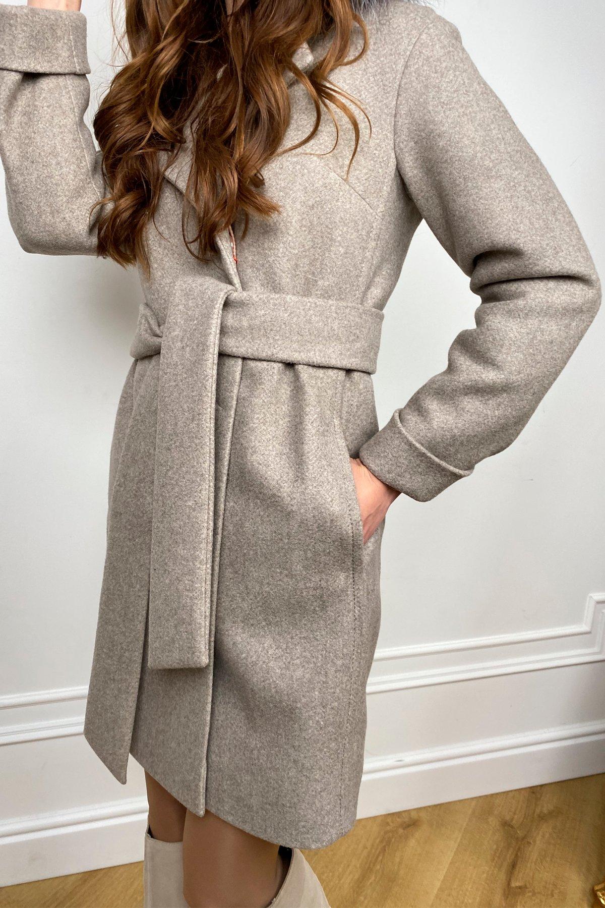 Пальто зима Приора 5668 АРТ. 37883 Цвет: Бежевый 10 - фото 4, интернет магазин tm-modus.ru