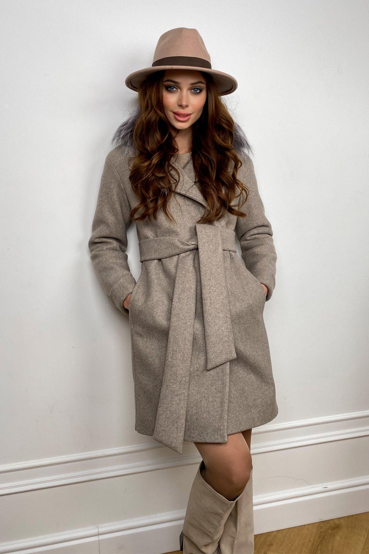 Пальто зима Приора 5668 АРТ. 37883 Цвет: Бежевый 10 - фото 6, интернет магазин tm-modus.ru