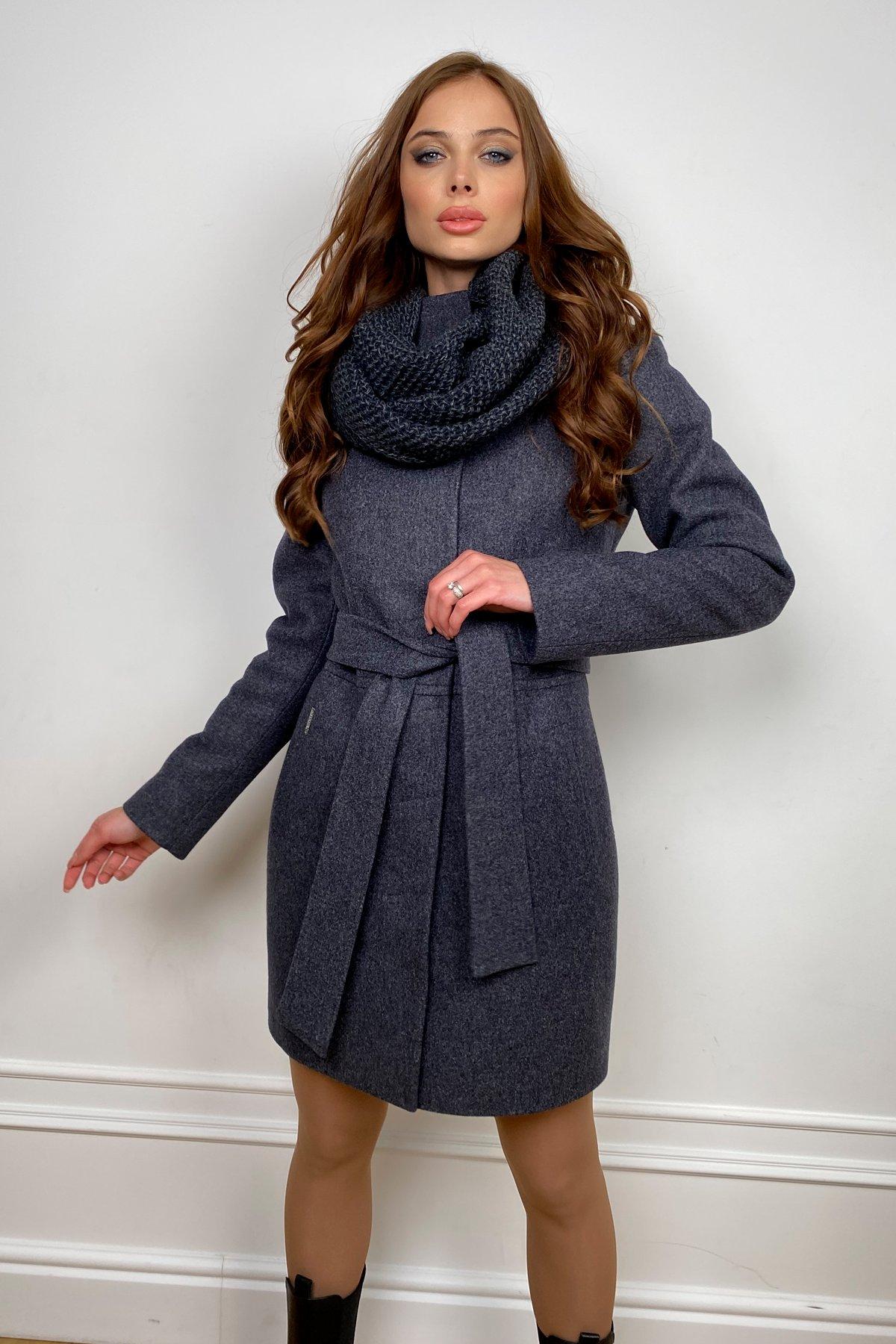 Купить женское зимнее пальто от Modus Пальто женское зимнее Габи 8295 с шарфом-трубой