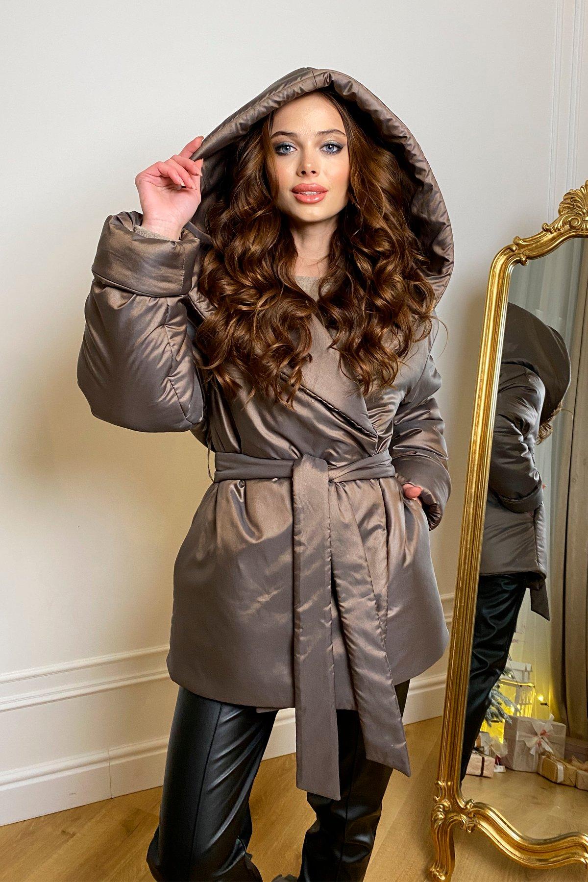 куртки оптом Харьков Нью Йорк  теплый пуховик из плащевой ткани  10289
