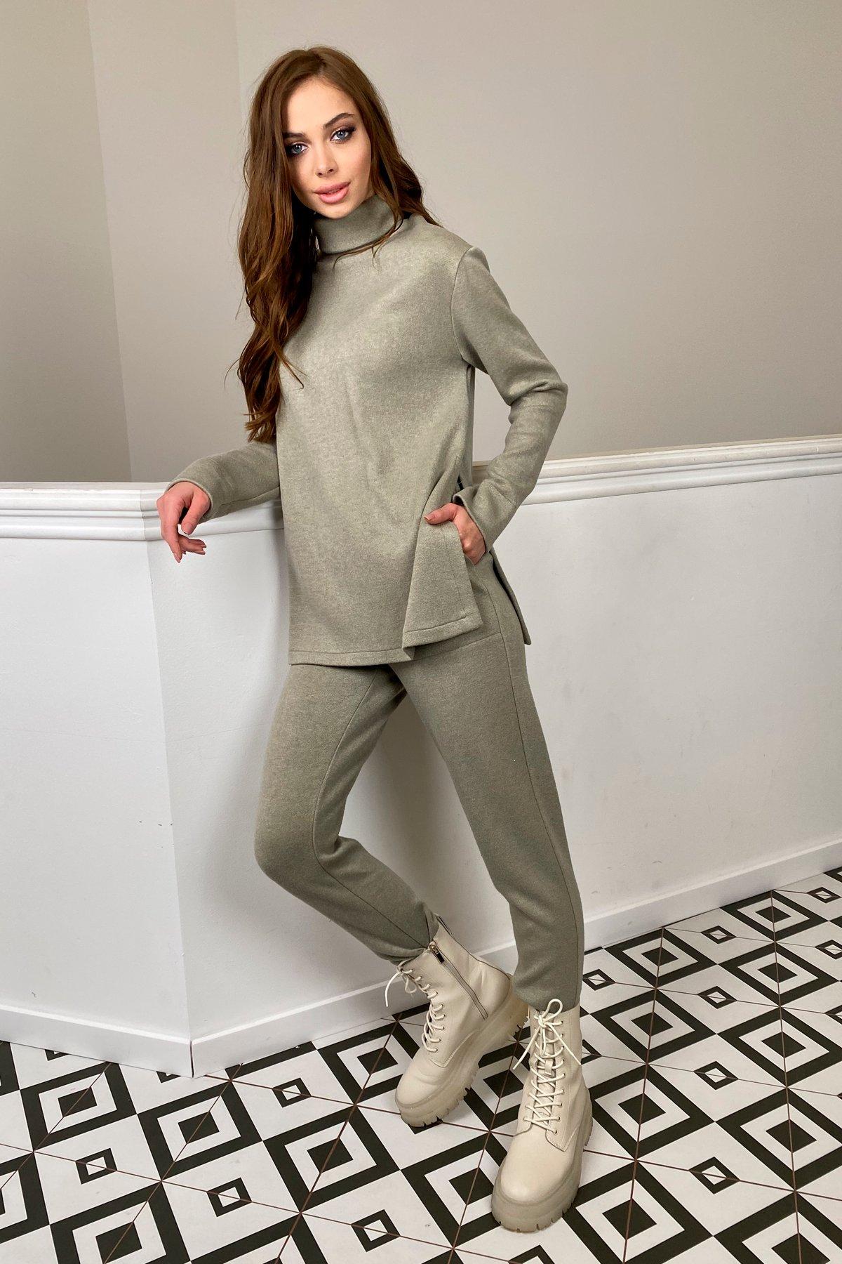 Люкс прогулочный костюм  из ангоры  9975 АРТ. 46313 Цвет: Олива - фото 1, интернет магазин tm-modus.ru