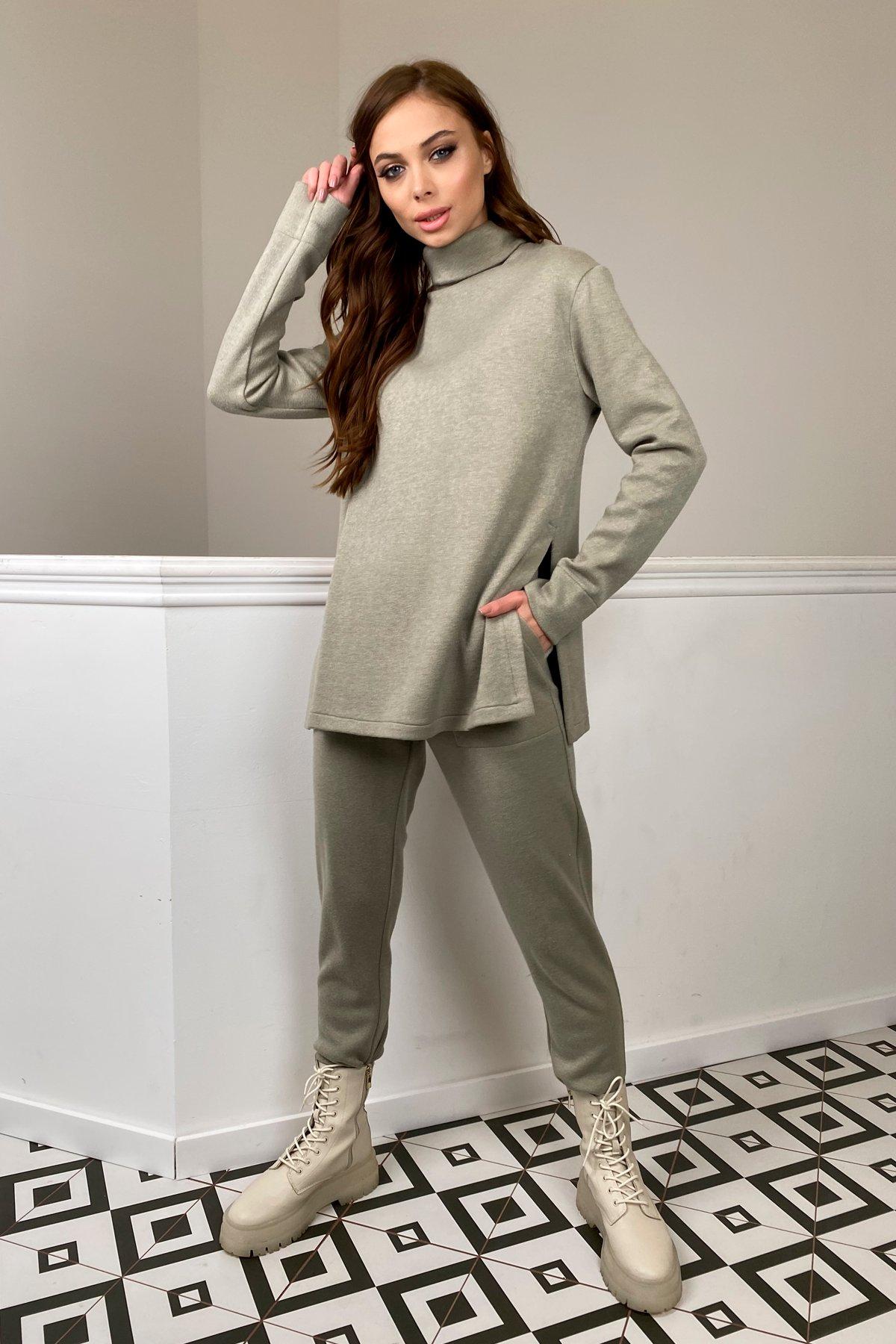 Люкс прогулочный костюм  из ангоры  9975 АРТ. 46313 Цвет: Олива - фото 6, интернет магазин tm-modus.ru