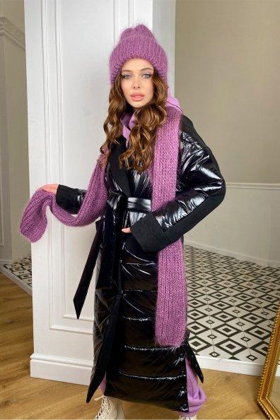 """Купить """"СанреМакси"""" зимнее пальто из кашемира и плащевки 10084 оптом и в розницу"""