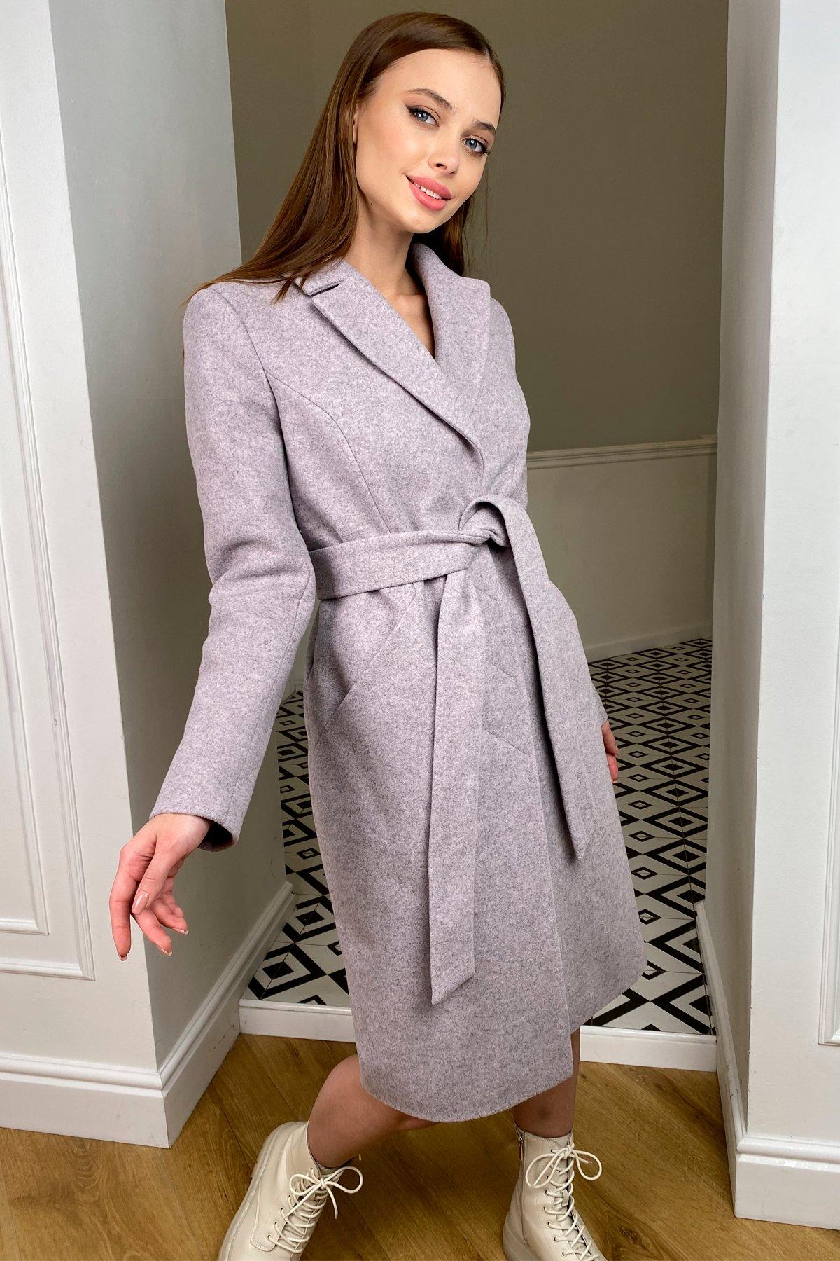 Пальто зима Мехико 8273 АРТ. 44381 Цвет: Серо-розовый 46 - фото 5, интернет магазин tm-modus.ru