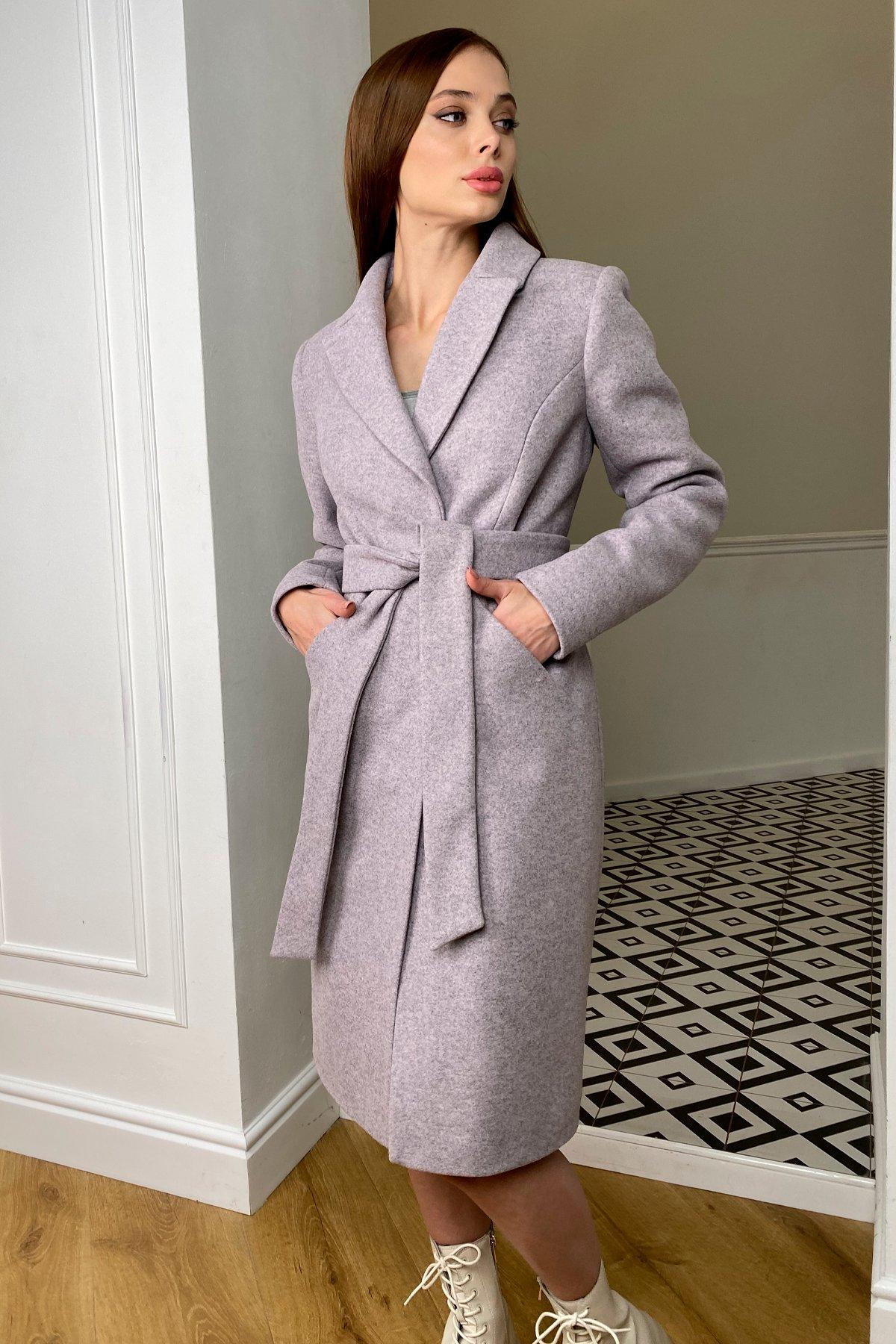 Пальто зима Мехико 8273 АРТ. 44381 Цвет: Серо-розовый 46 - фото 6, интернет магазин tm-modus.ru