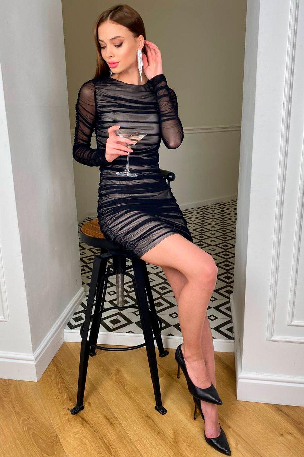 Платья Украина оптом от Модус Облегающее платье Викси 8870
