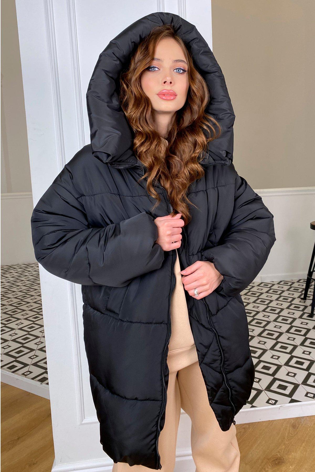 куртка женская купить Френд пуховик из плащевой ткани 10307
