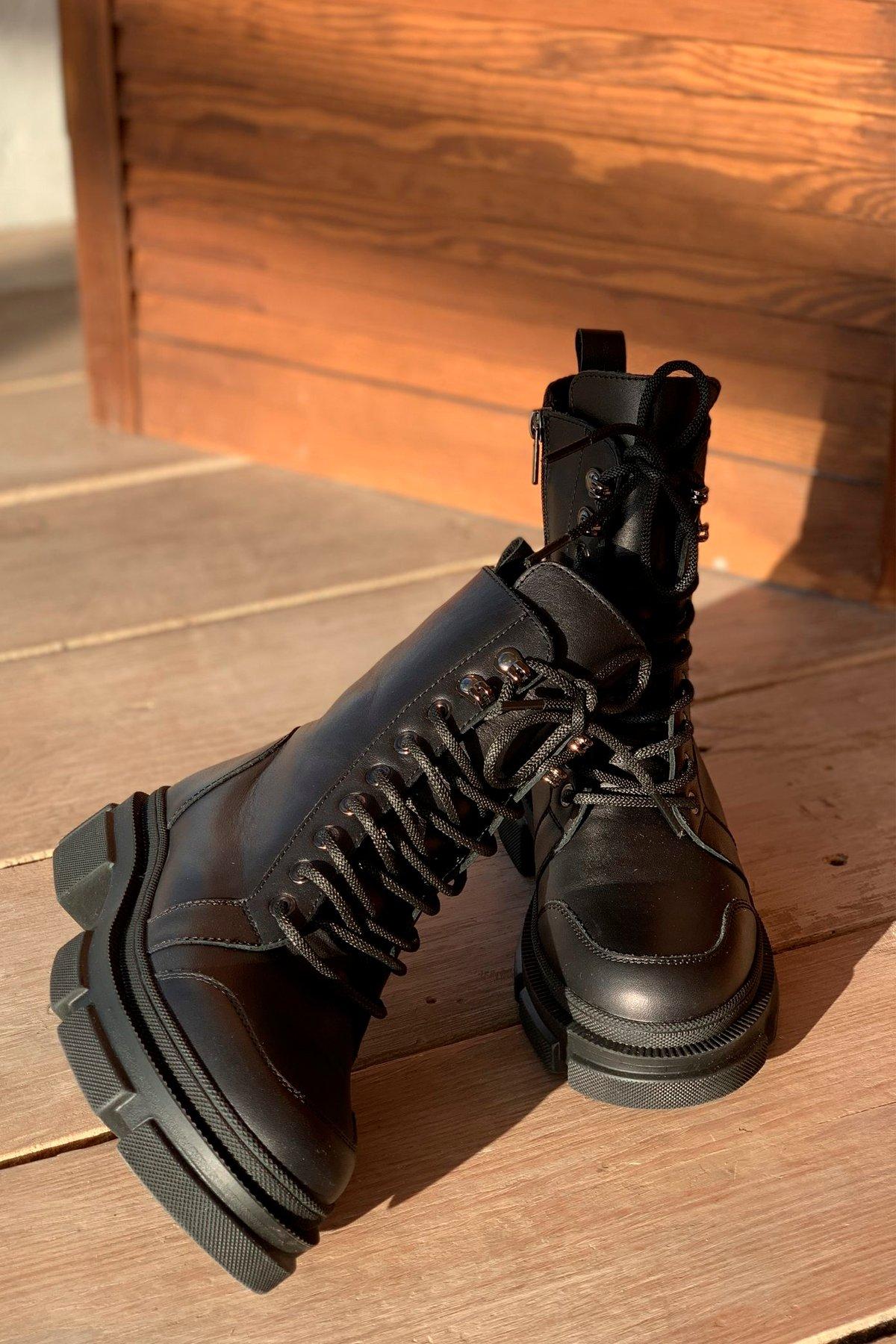 Ботинки зимние 260/7 АРТ. 46300 Цвет: Черный - фото 3, интернет магазин tm-modus.ru