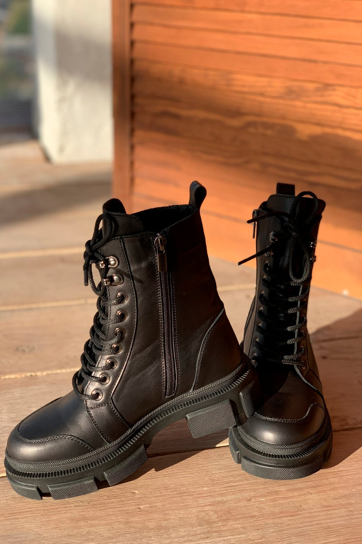 Ботинки зимние 260/7 АРТ. 46300 Цвет: Черный - фото 4, интернет магазин tm-modus.ru