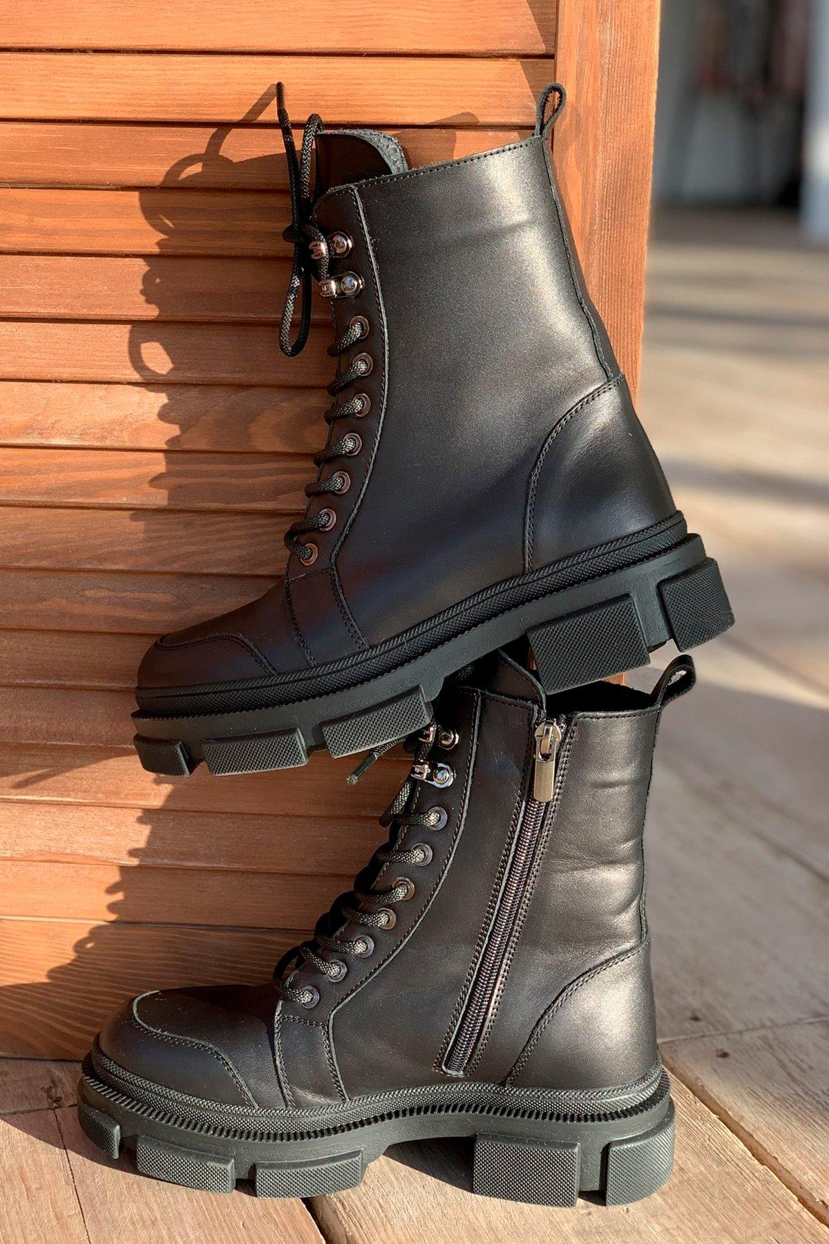 Ботинки зимние 260/7 АРТ. 46300 Цвет: Черный - фото 5, интернет магазин tm-modus.ru