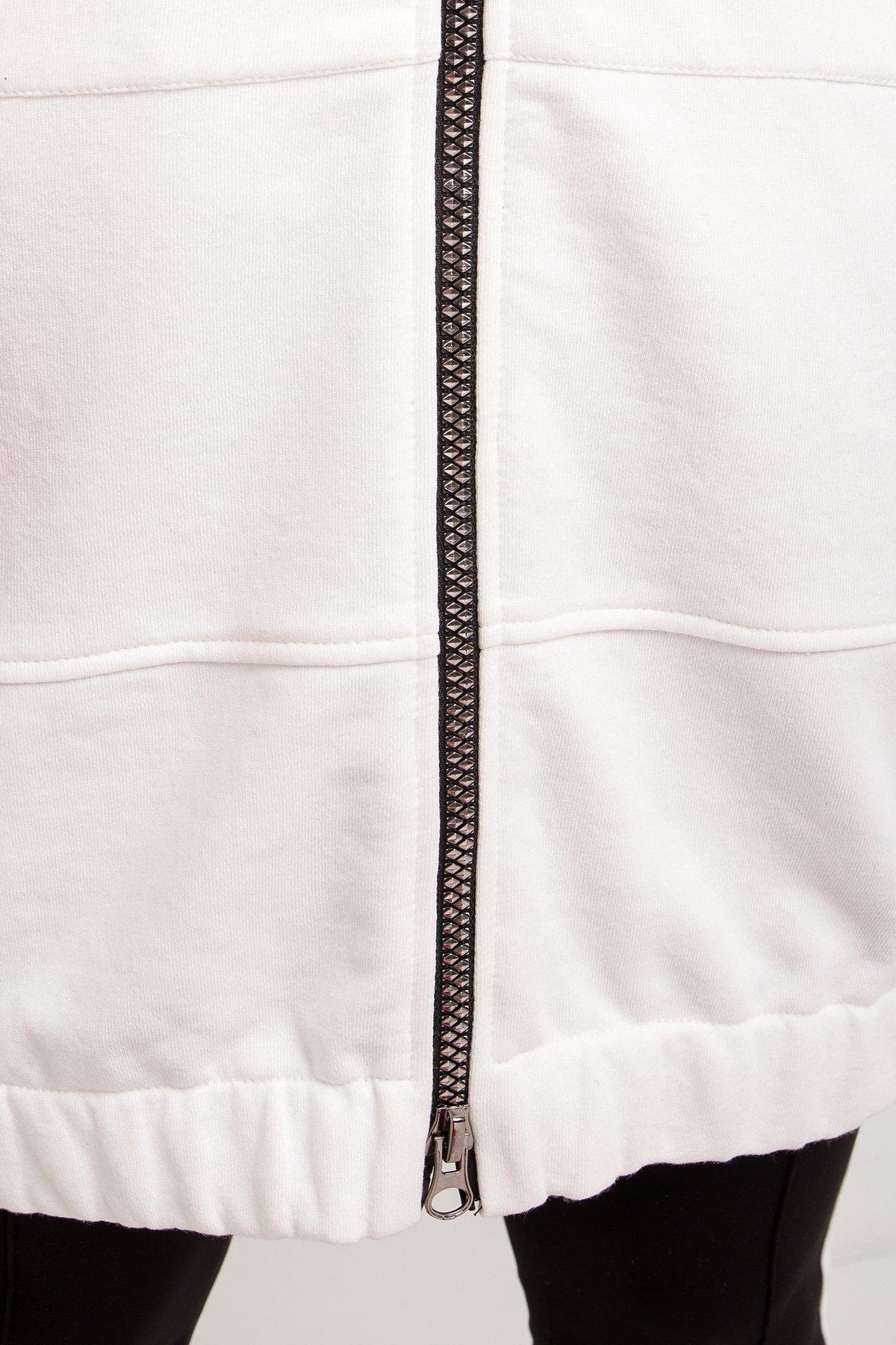 Кардиган Турбо 8991 Цвет: Молоко/белый