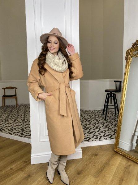 """Купить """"Влада"""" зимнее пальто  из ткани ворсовка  10019 оптом и в розницу"""