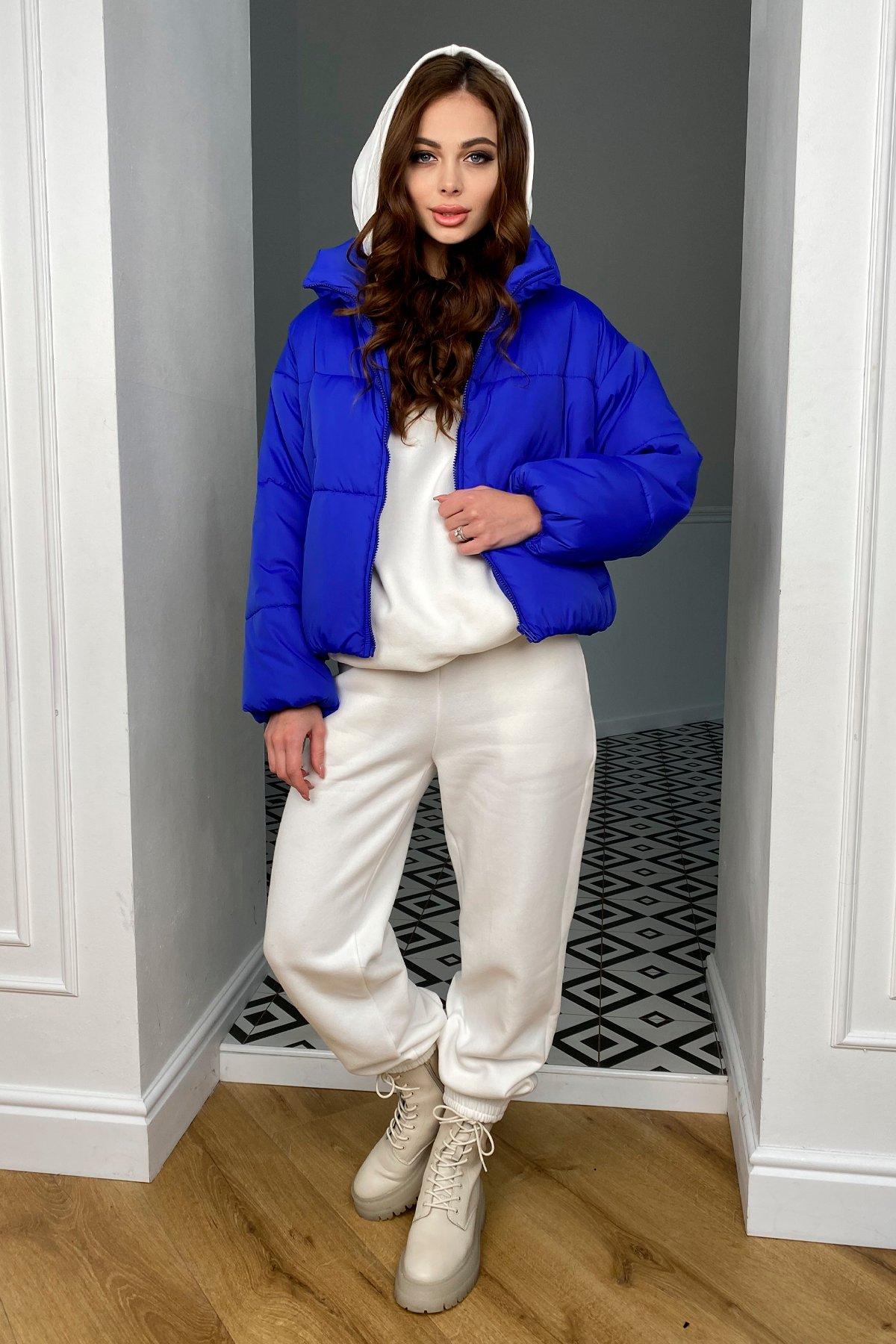 Драйв куртка из плащевой ткани 10448 АРТ. 46769 Цвет: Электрик 1052 - фото 5, интернет магазин tm-modus.ru