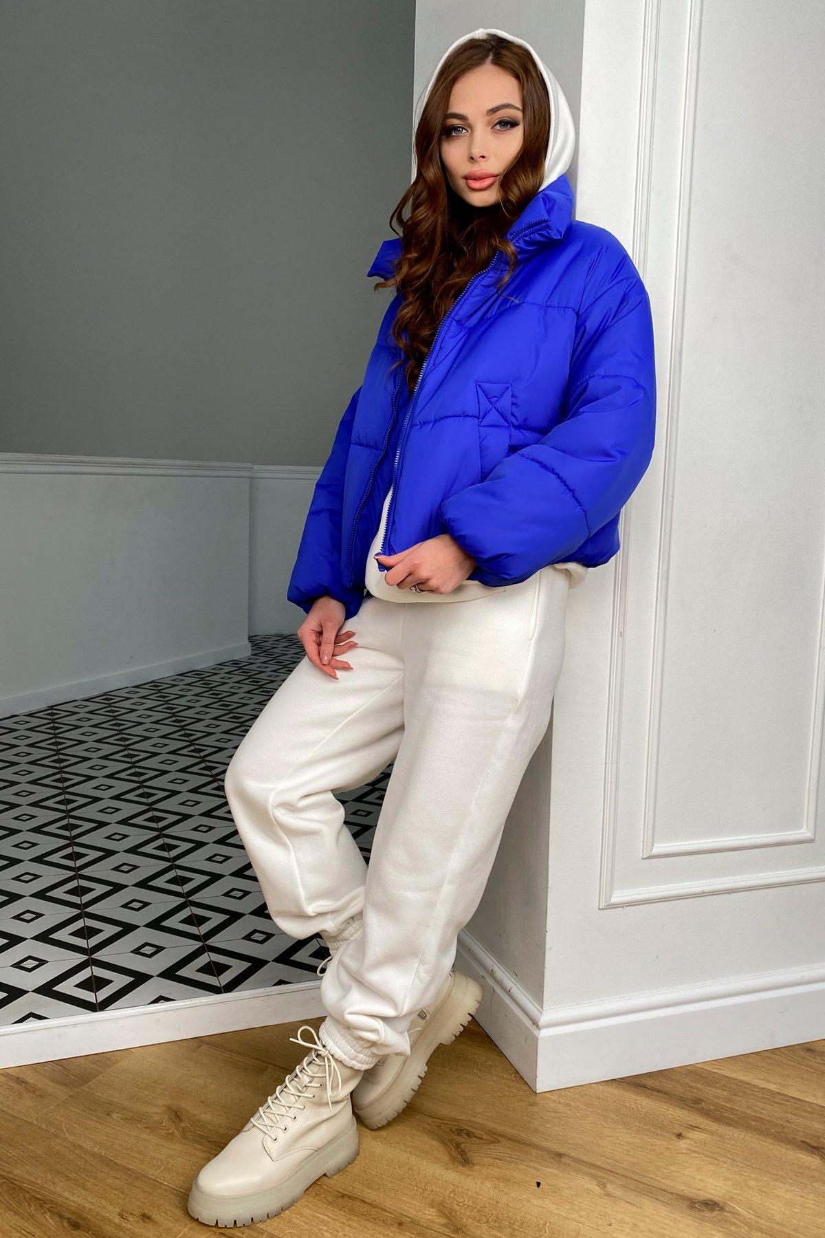Драйв куртка из плащевой ткани 10448 АРТ. 46769 Цвет: Электрик 1052 - фото 6, интернет магазин tm-modus.ru