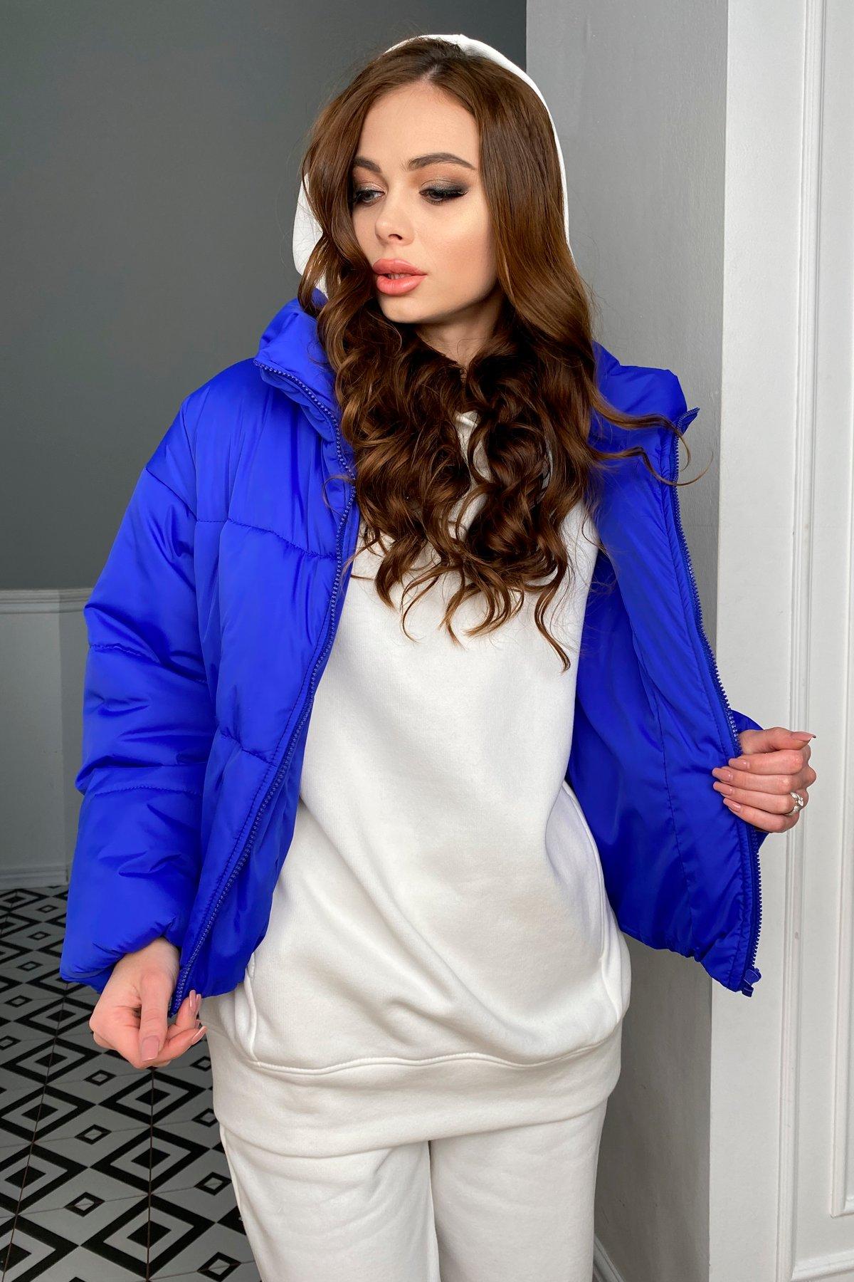 Драйв куртка из плащевой ткани 10448 АРТ. 46769 Цвет: Электрик 1052 - фото 7, интернет магазин tm-modus.ru