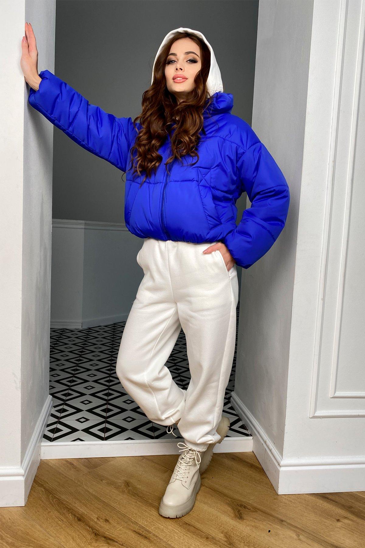Драйв куртка из плащевой ткани 10448 АРТ. 46769 Цвет: Электрик 1052 - фото 8, интернет магазин tm-modus.ru